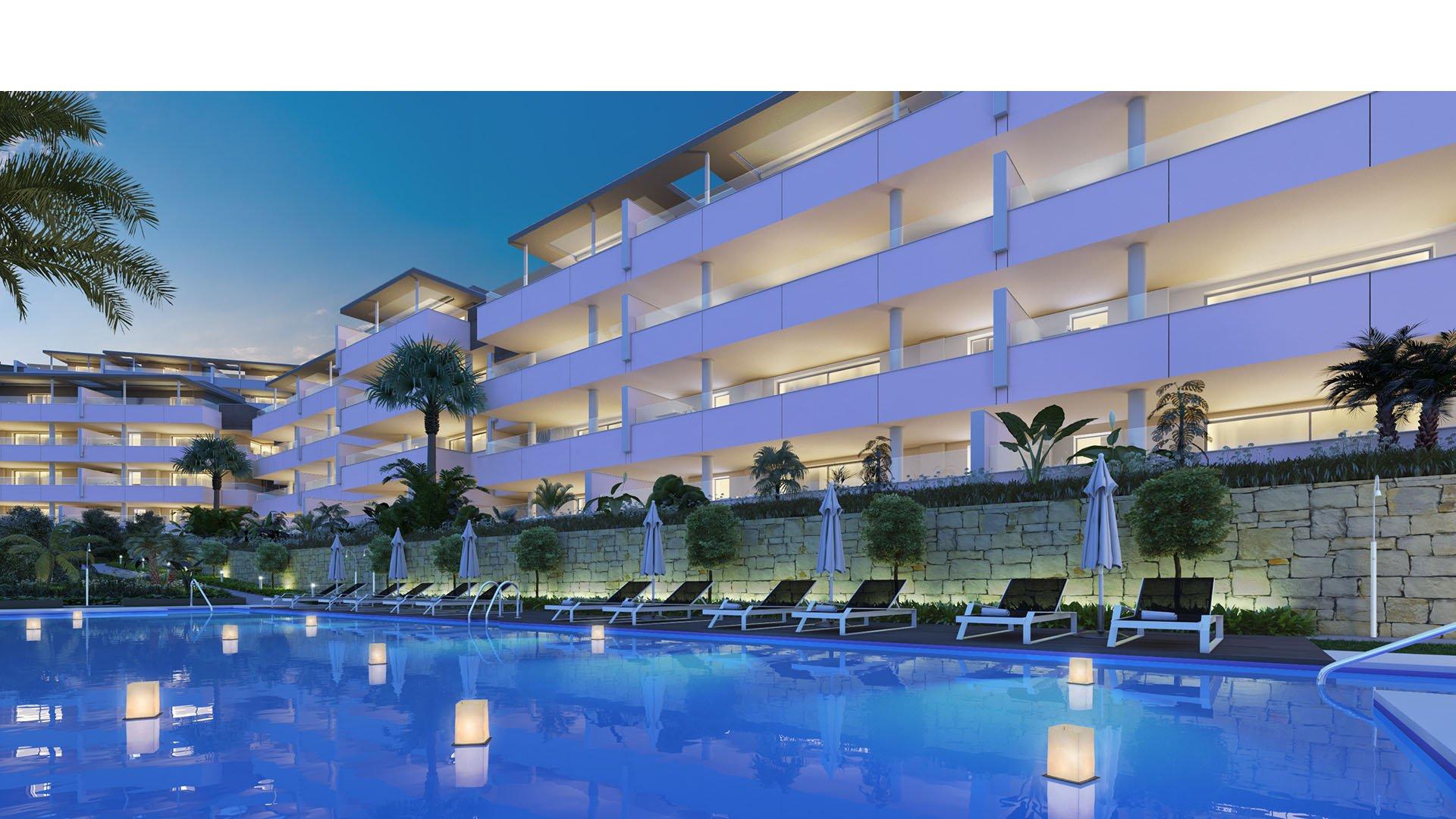 Botanic: Modern apartments in Benahavís at Los Arqueros Golf