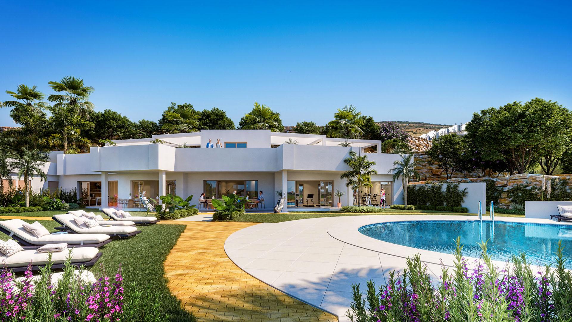 Aby: Betaalbare nieuwe appartementen in Estepona