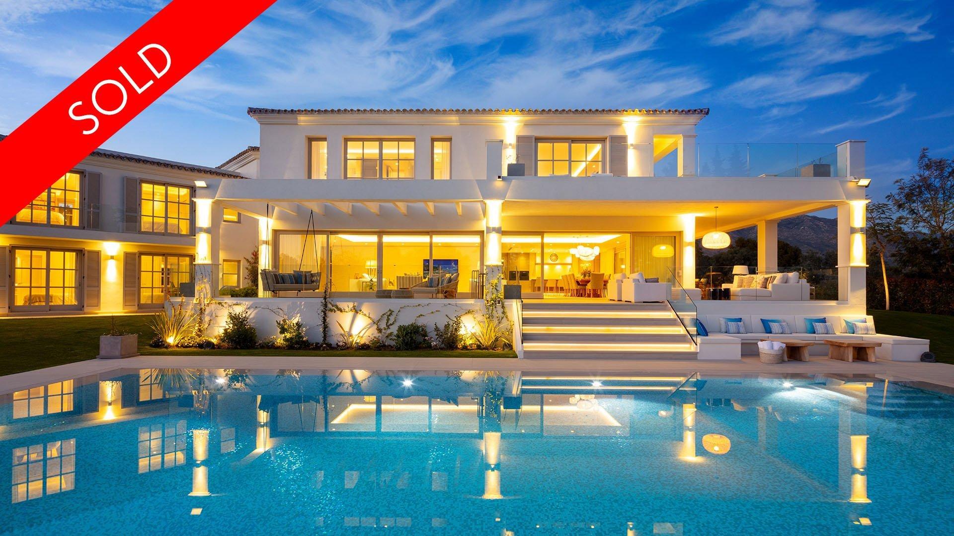 Aloha 40: Sensational luxury villa surrounded by the prestigious Aloha Golf in Marbella