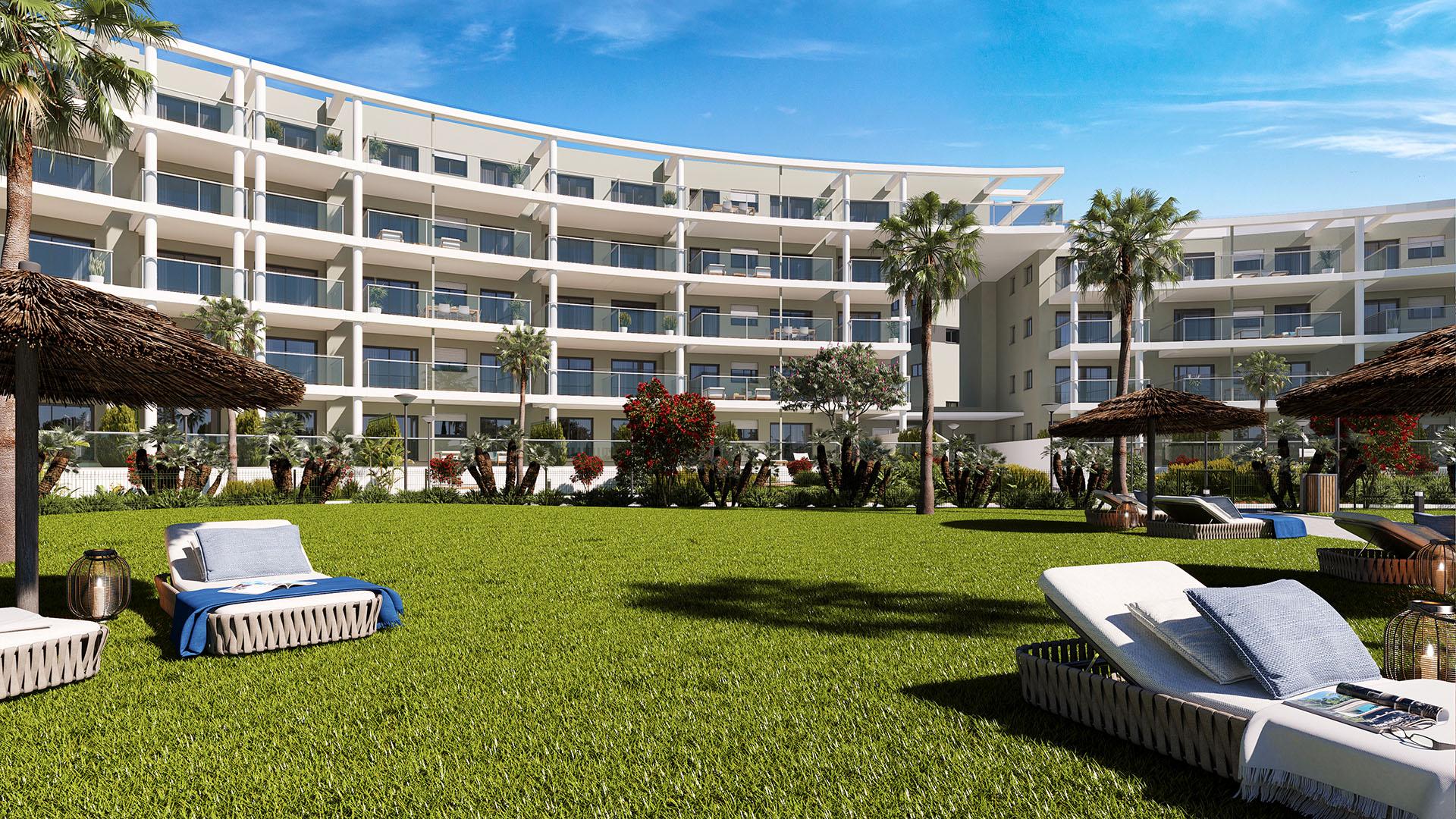 Amphora Beach: Apartments near the beach in Manilva