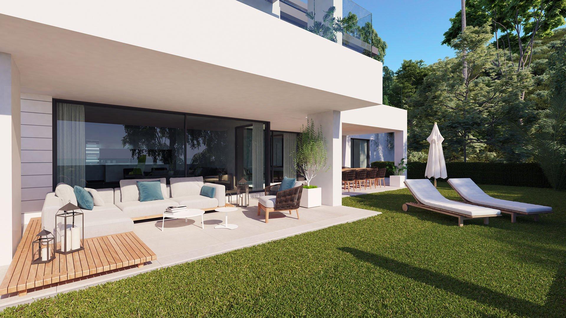 Aqualina: Exclusieve penthouses met panoramisch zeezicht te Benahavís