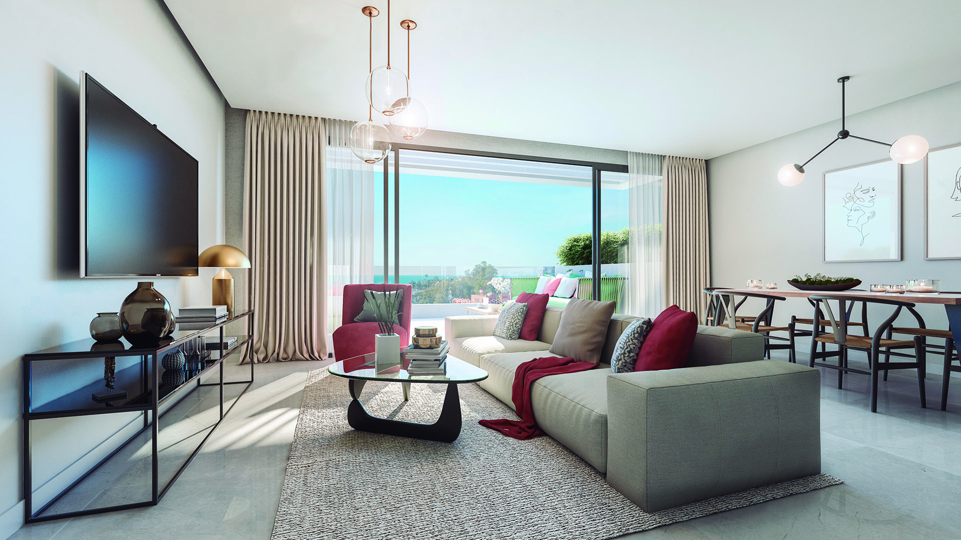 Artola Homes: Front line golf penthouses in Cabopino