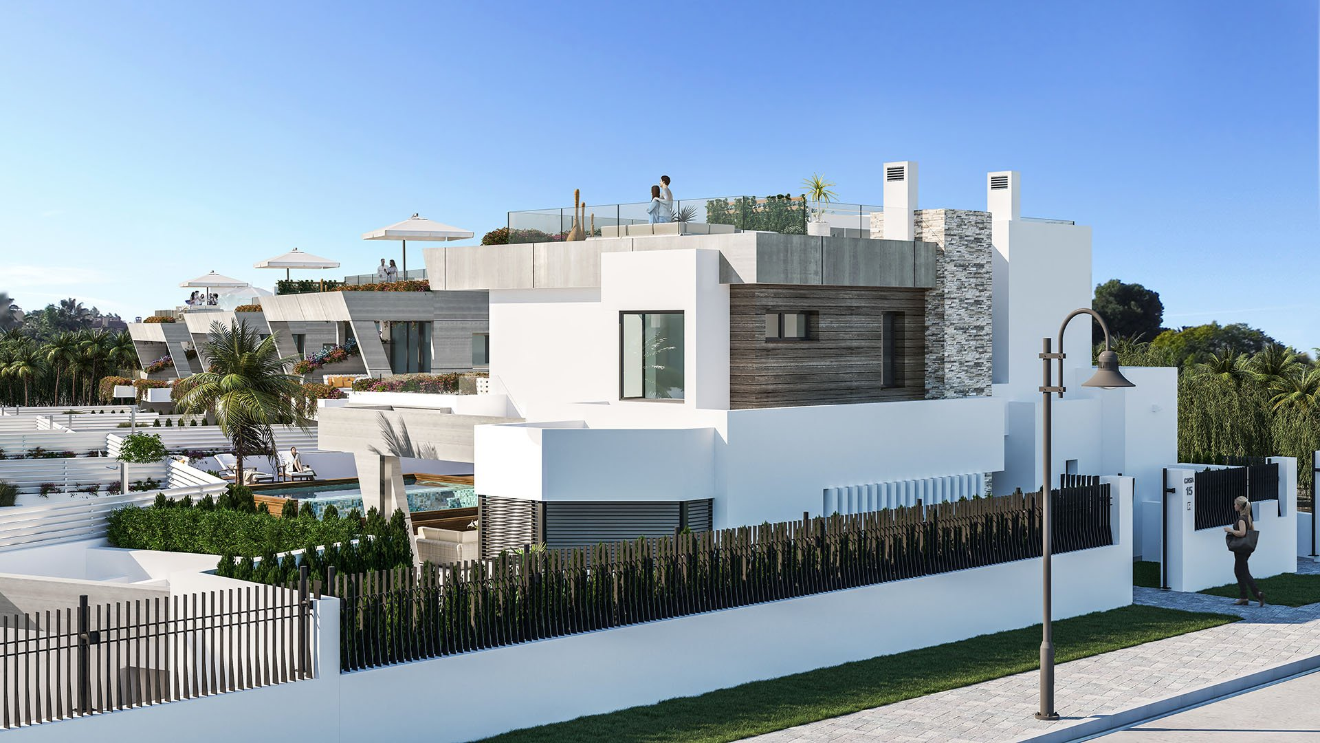 Banus Bay: Houses in Puerto Banús