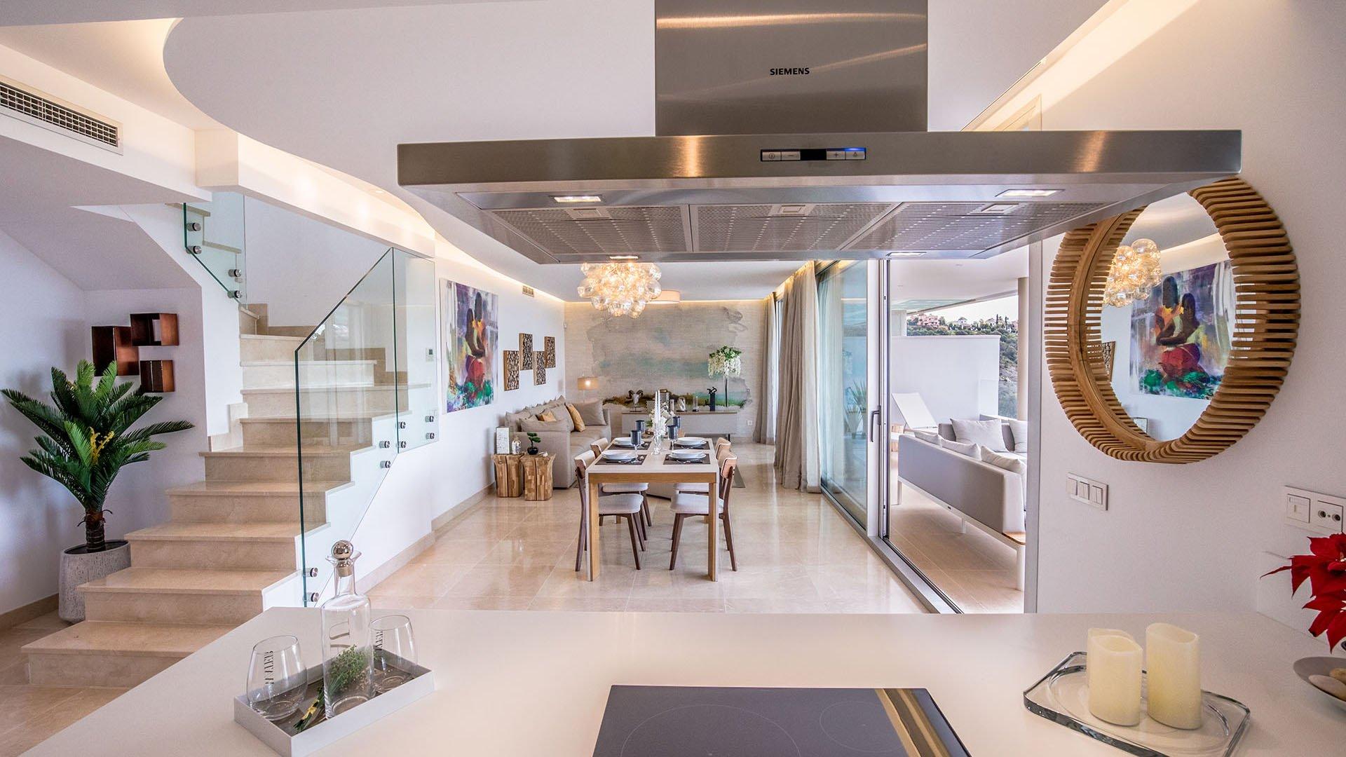 Botanic: Modern penthouses at Los Arqueros Golf in Benahavís