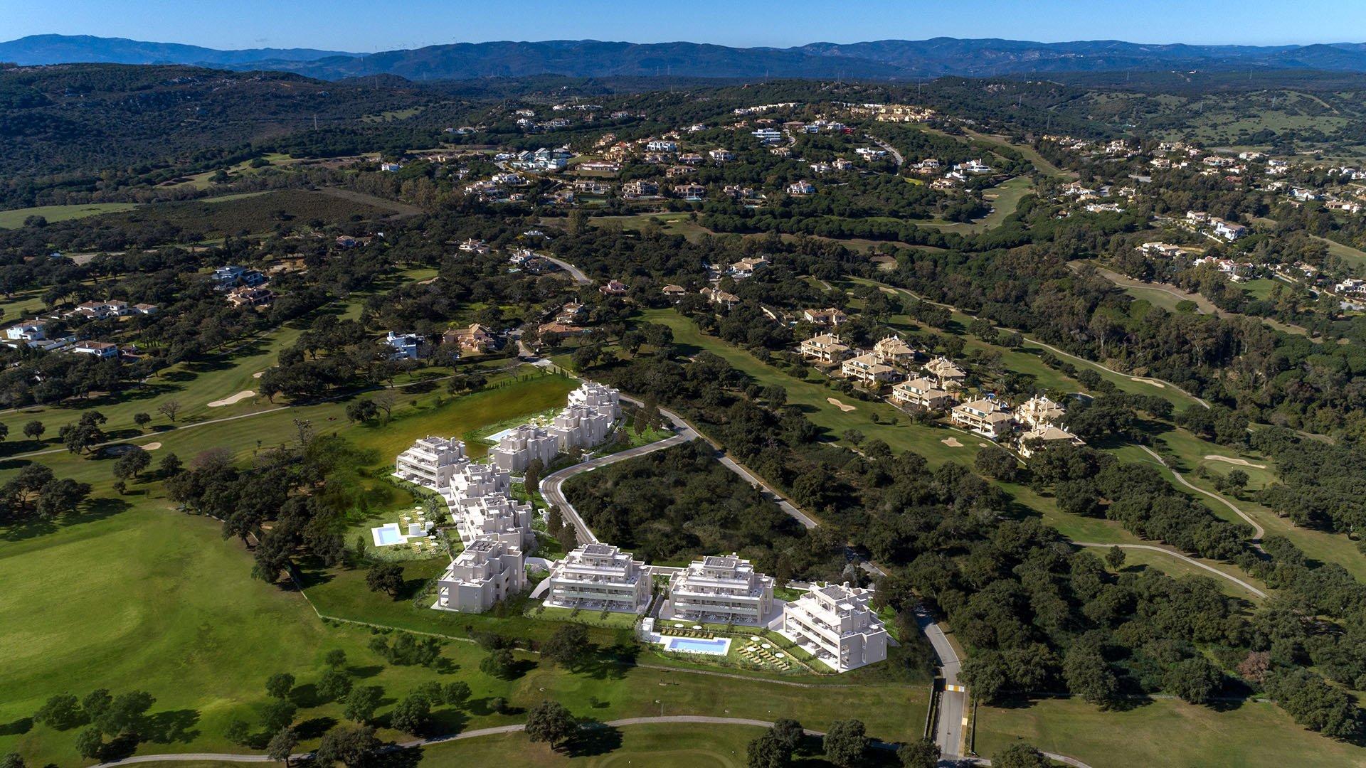 Emerald Greens: Aantrekkelijke penthouses in San Roque