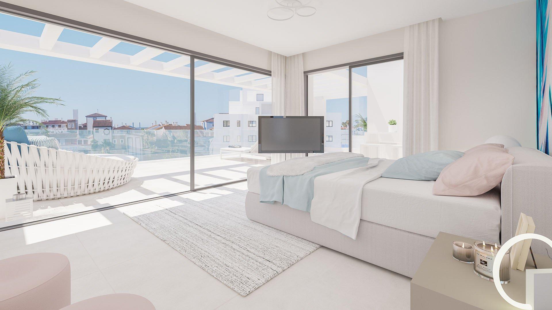 Cortijo del Golf:  Eigentijdse penthouses op de New Golden Mile