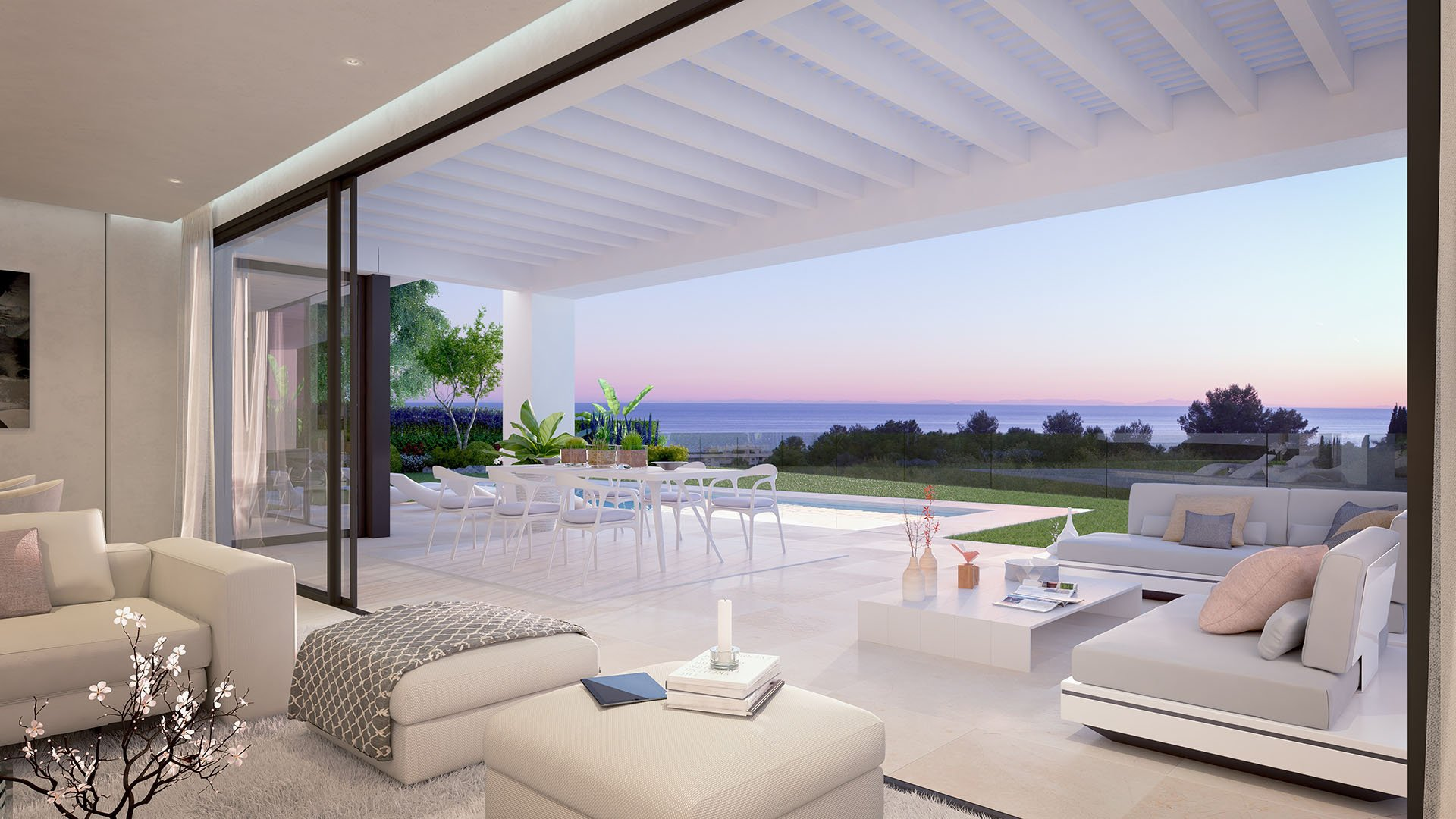 CaboRoyale: Luxe villa met zeezicht op wandelafstand van het strand