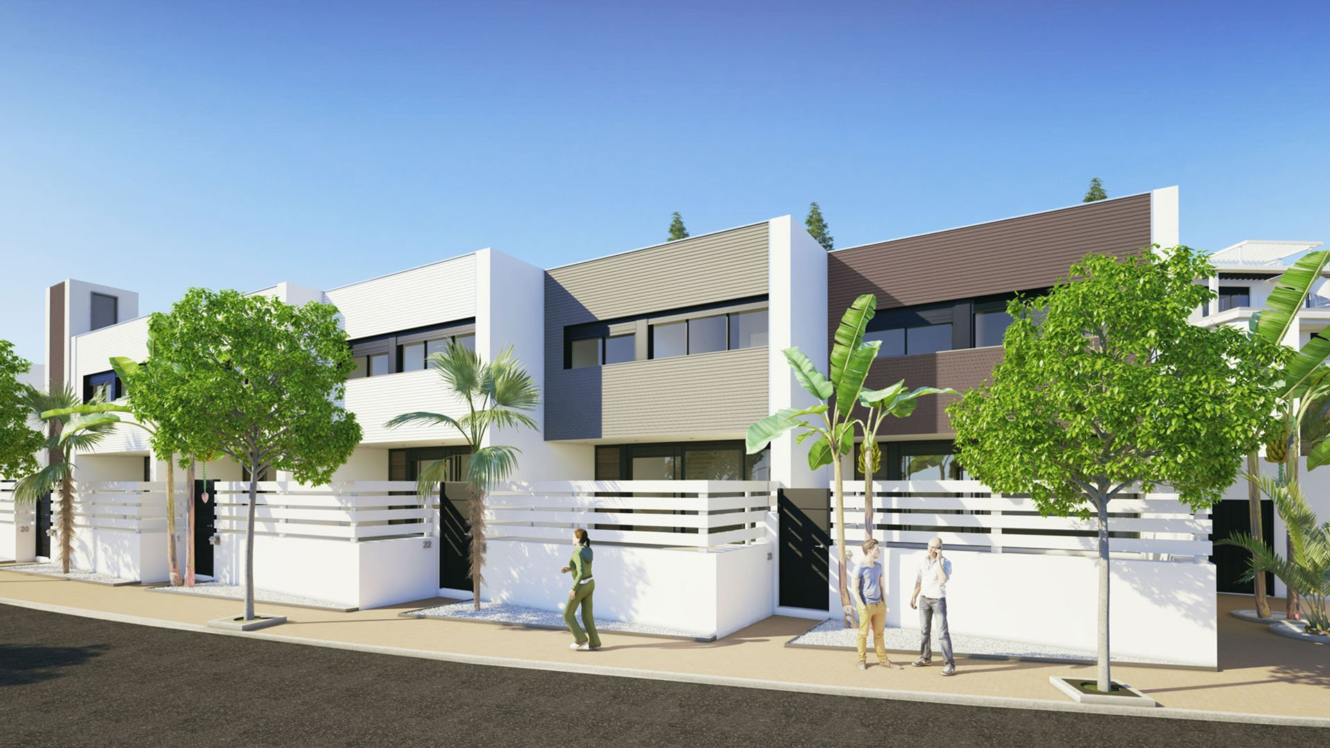 Le Mirage: Townhouses and apartments on the New Golden Mile