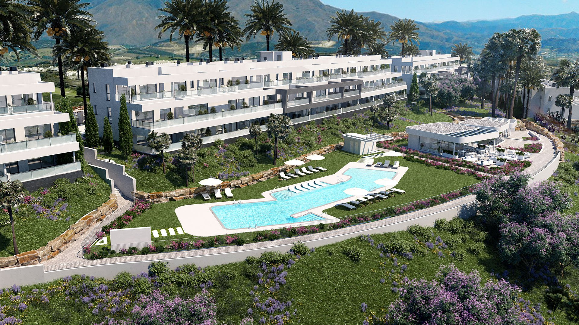 Célere Dona Julia: Apartments within walking distance from the beach in Casares