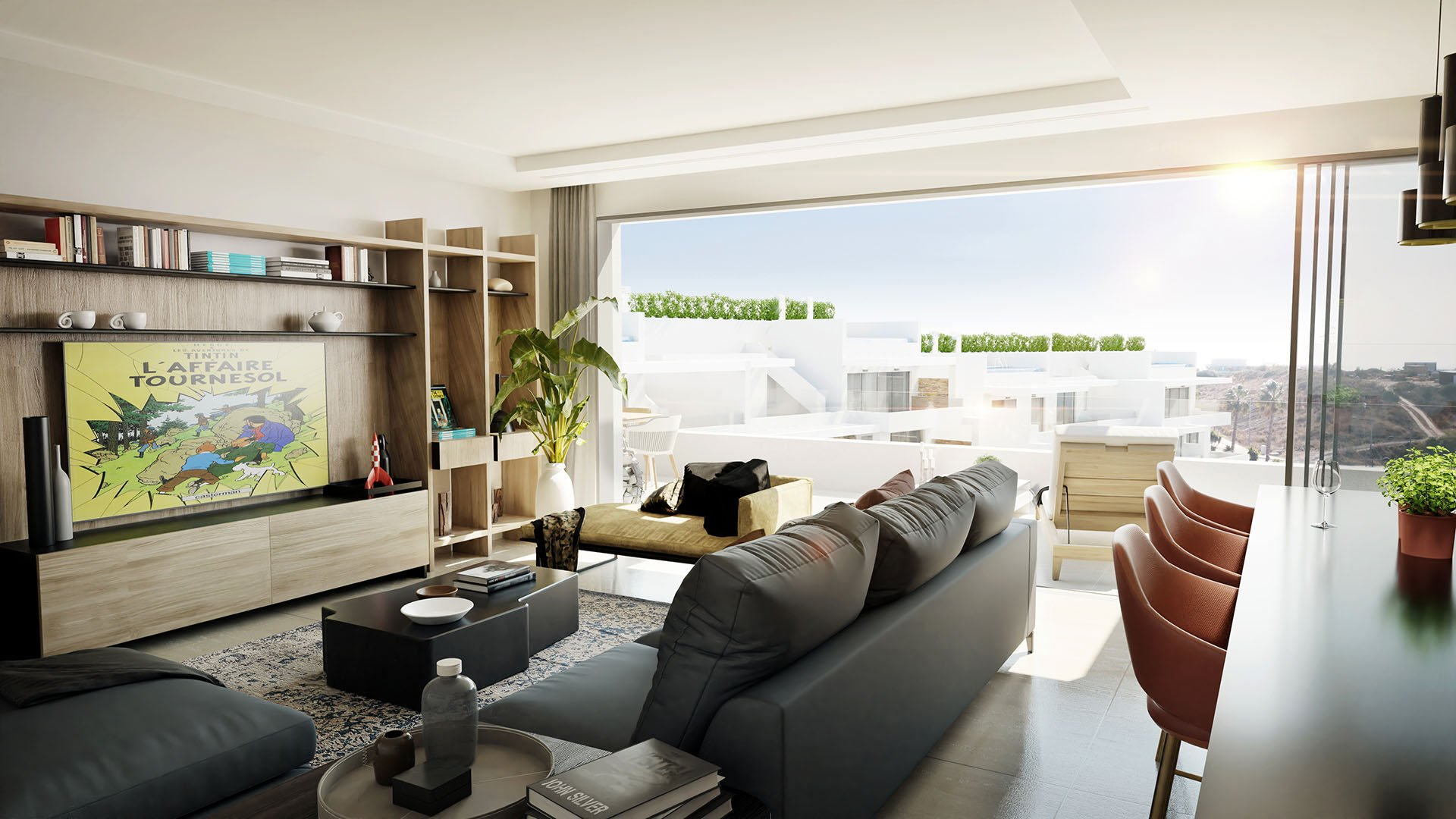 Costafiore Gardens: High-quality apartment in Estepona close to the harbour