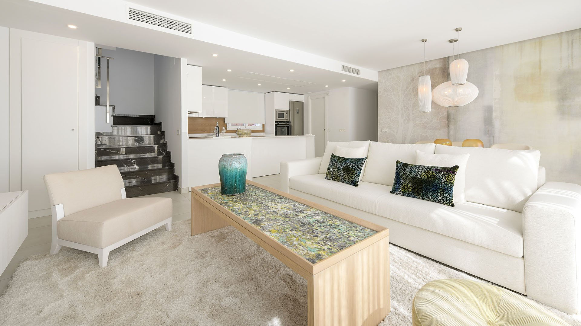 Elements: Modern apartments in Marbella in a quiet residential area
