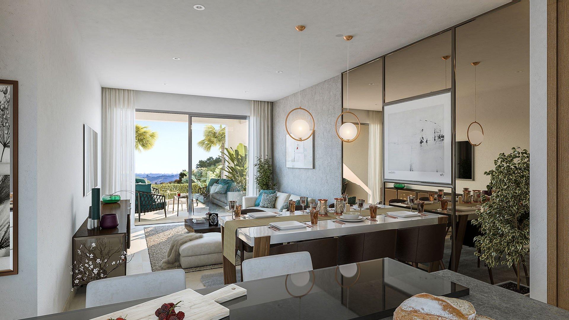 Elite: Luxe penthouses in een idyllisch landschap