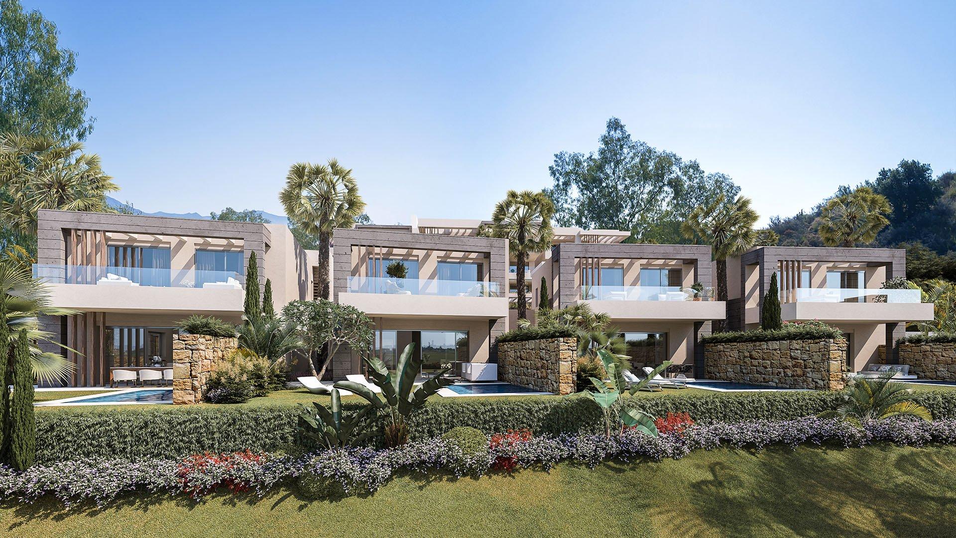 Elite: Luxe townhouses in een idyllisch landschap