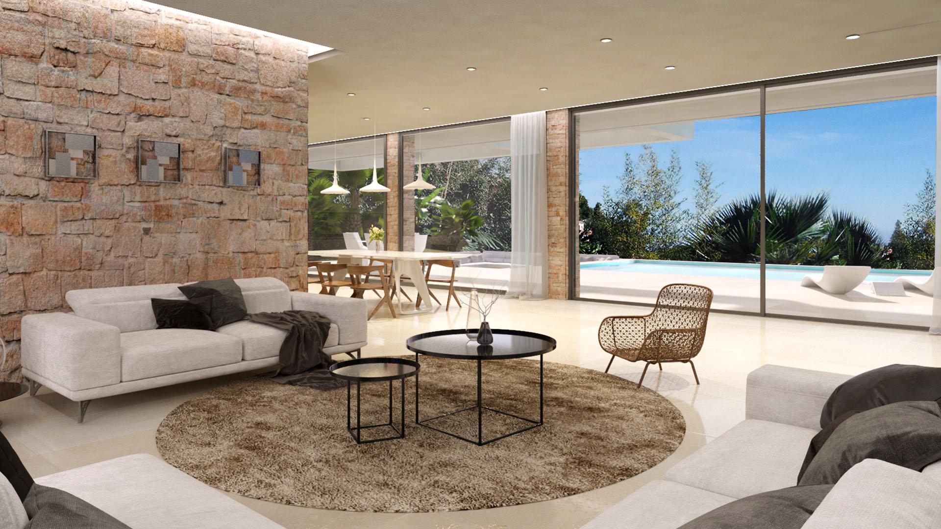 Villa Elviria Sea Golf: Luxe villa aan Santa Maria Golf Club in Marbella