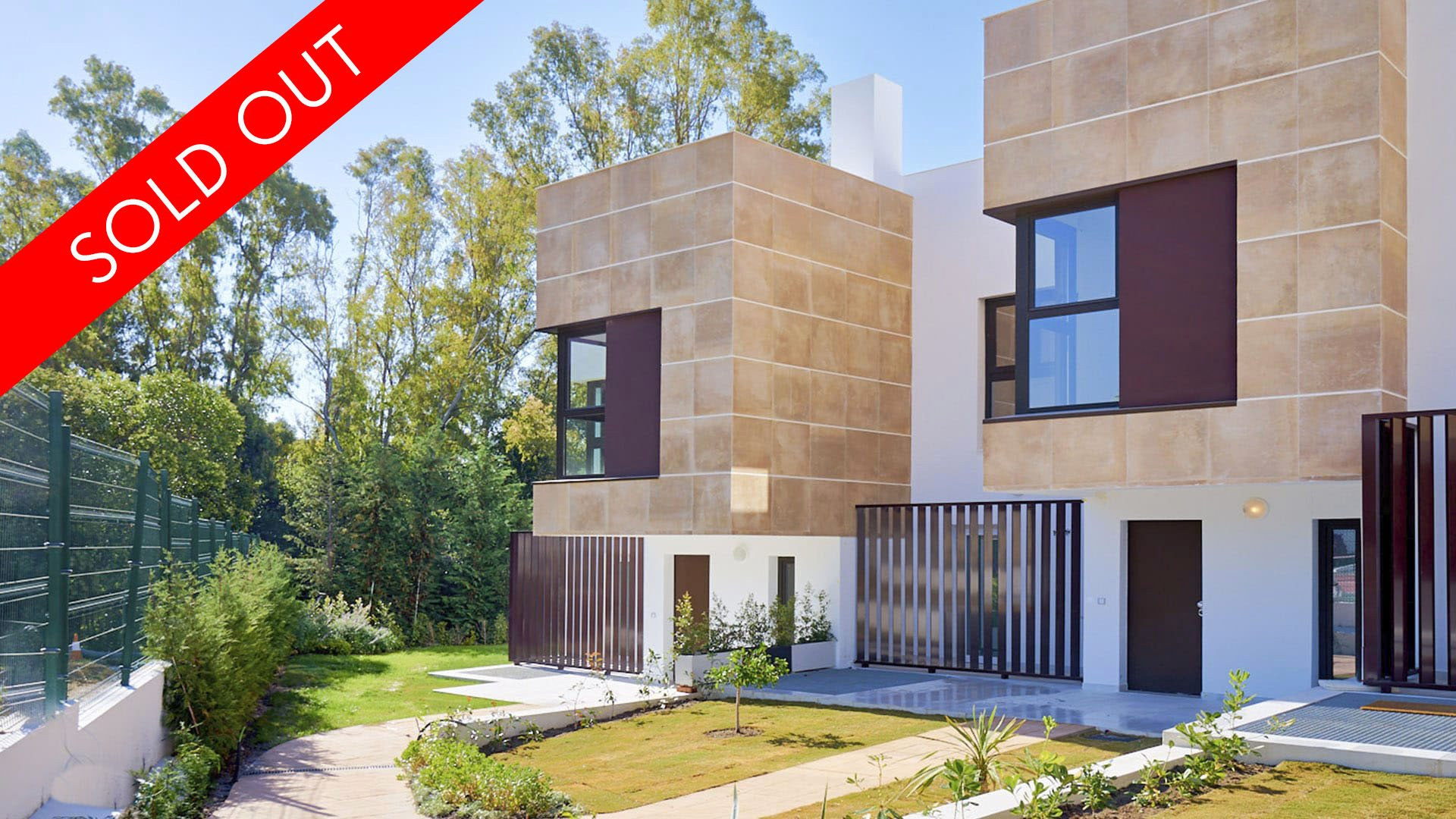 Golden Green: Newly built semi-detached houses in the heart of Nueva Andalucía