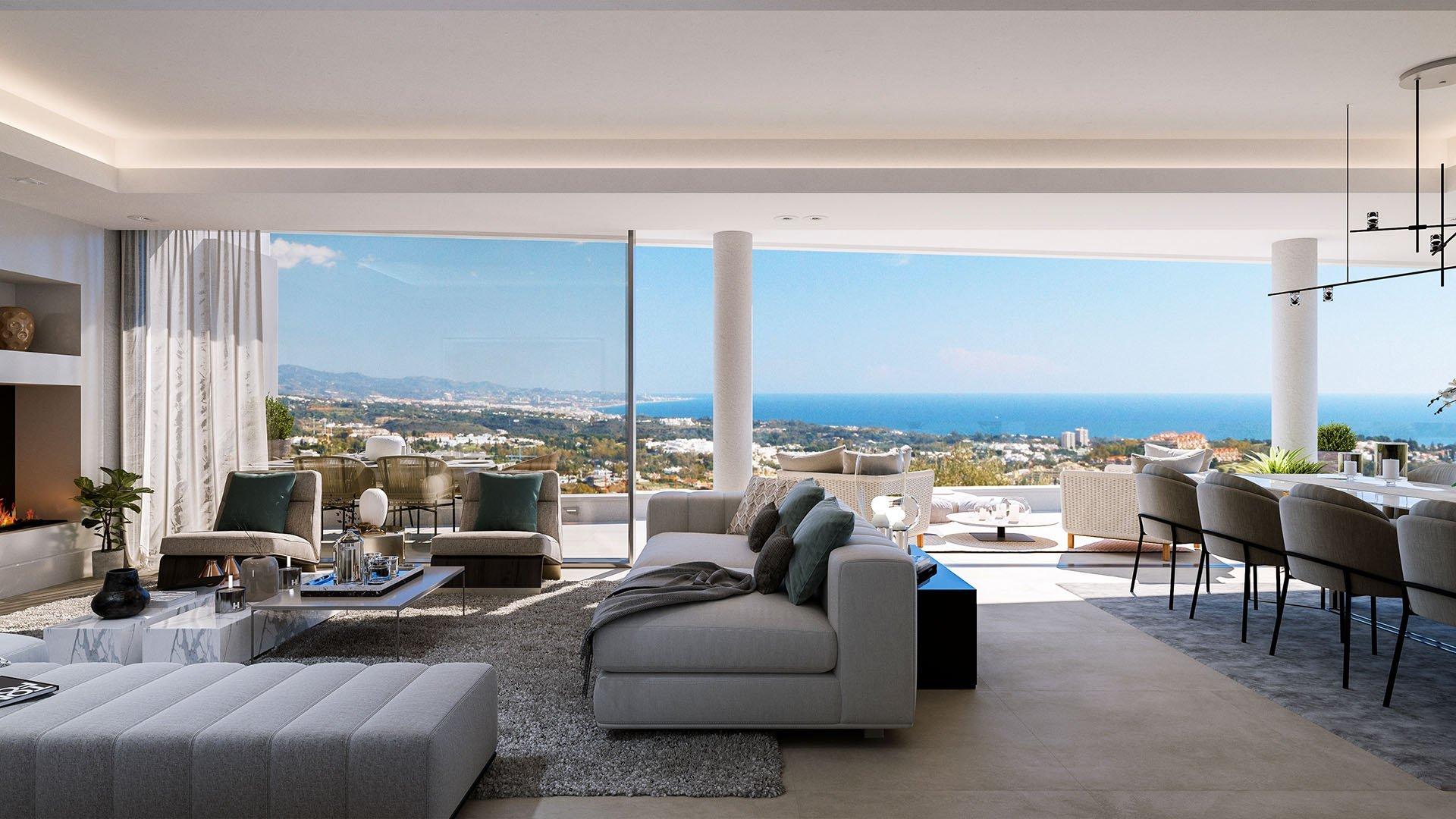 Grand View Marbella: Luxe appartementen en penthouses in La Quinta