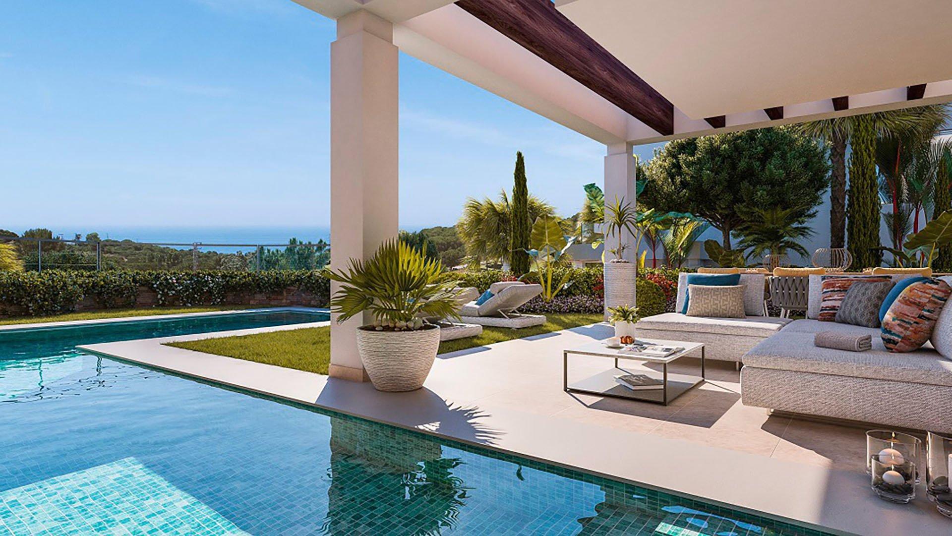 Green Hill Marbella: Eerste lijn golf villa in Cabopino