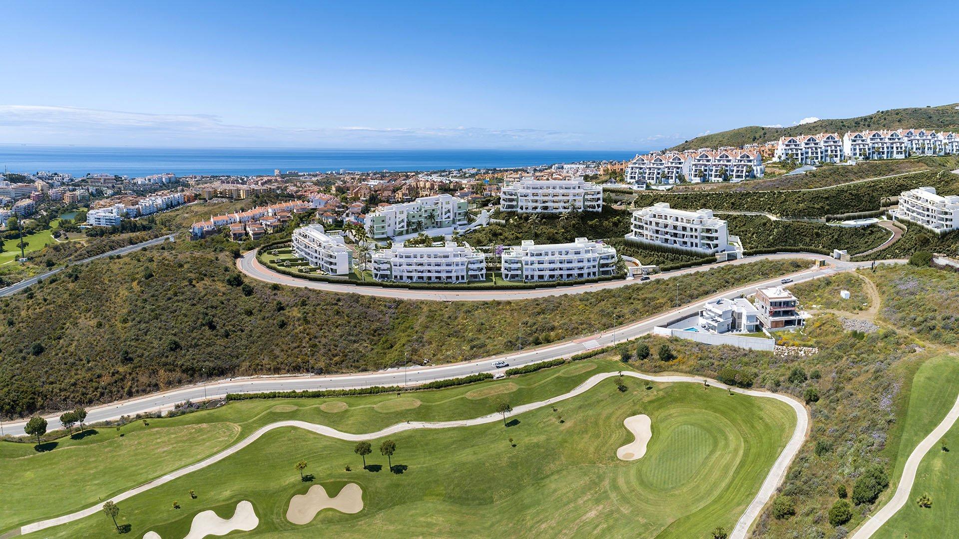 Ipanema: Apartments overlooking the sea and the Calanova Golf