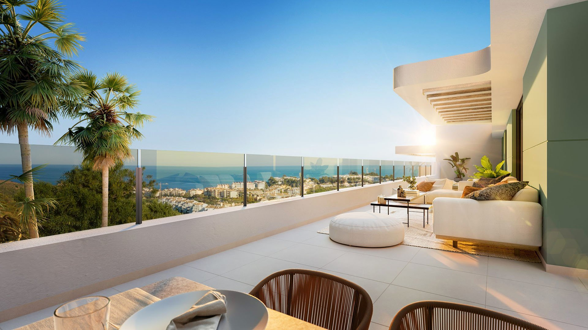 Ipanema: Penthouses overlooking the sea and the Calanova Golf