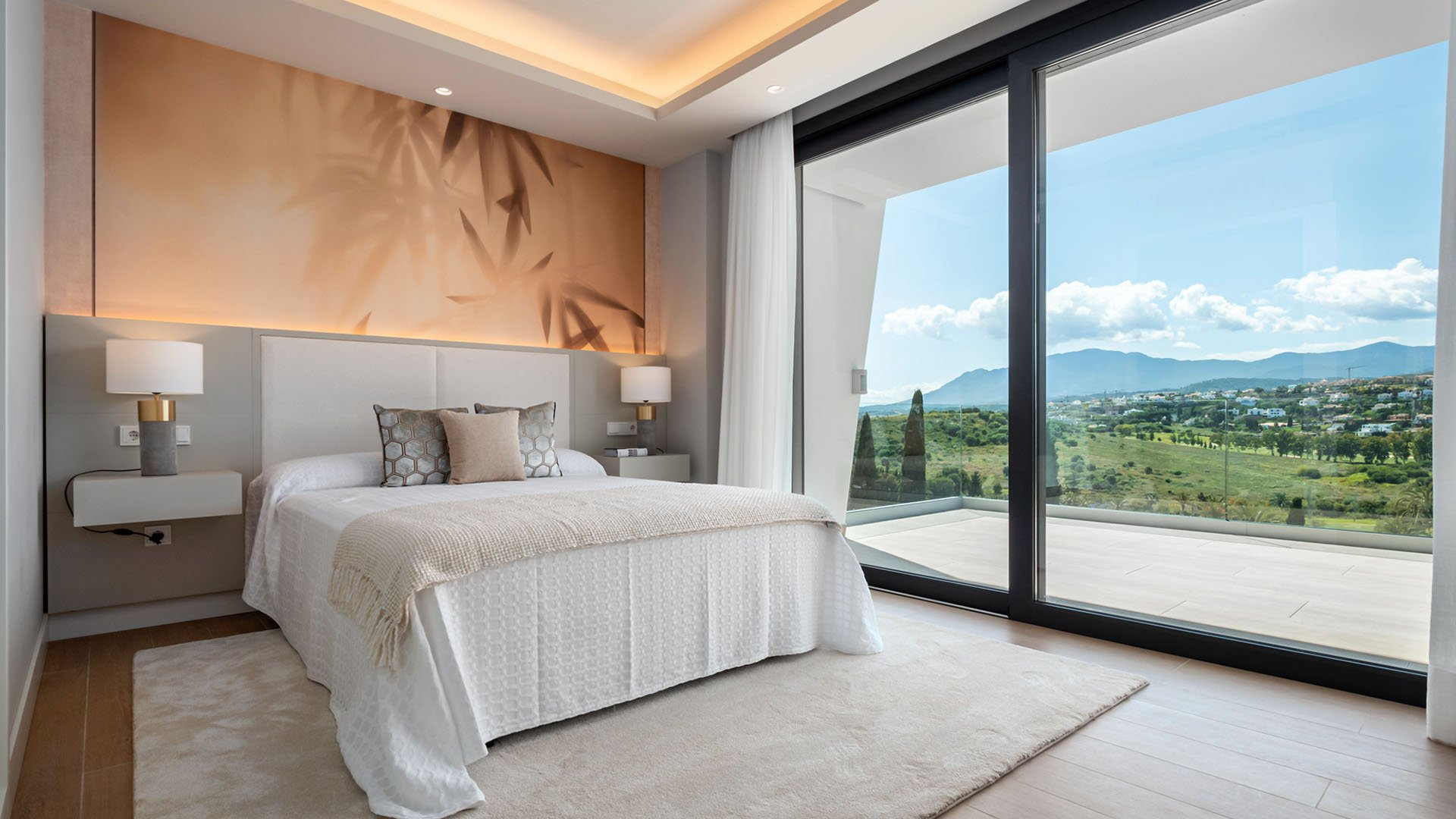 Light Blue Villas: Attractive project of 5 independent modern villas on the New Golden Mile