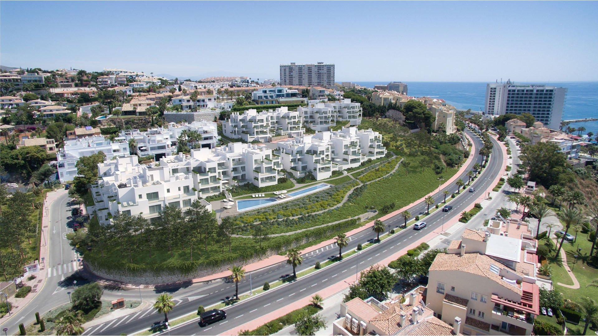 Lar Bay: Moderne appartementen bij het strand met prachtige uitzichten