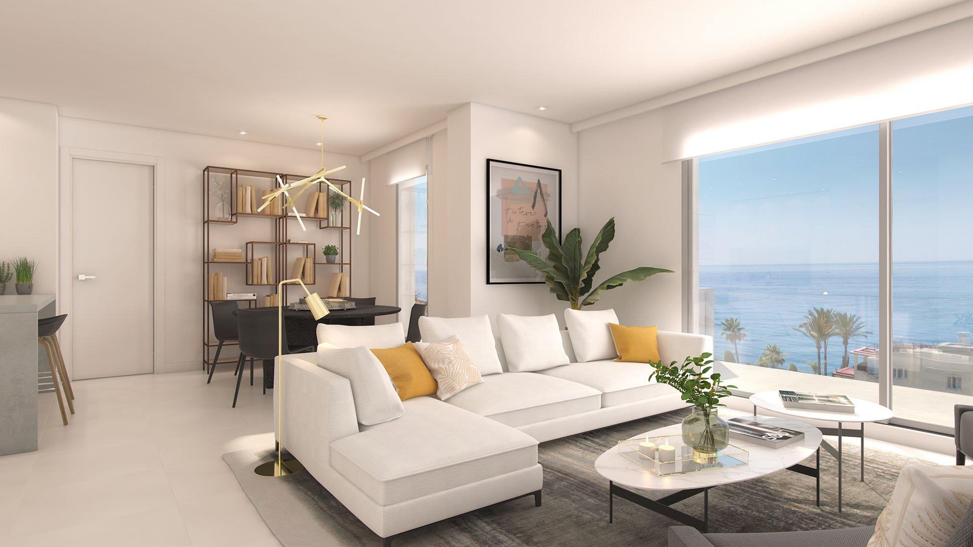 Lar Bay: Modern apartments near the beach with amazing views