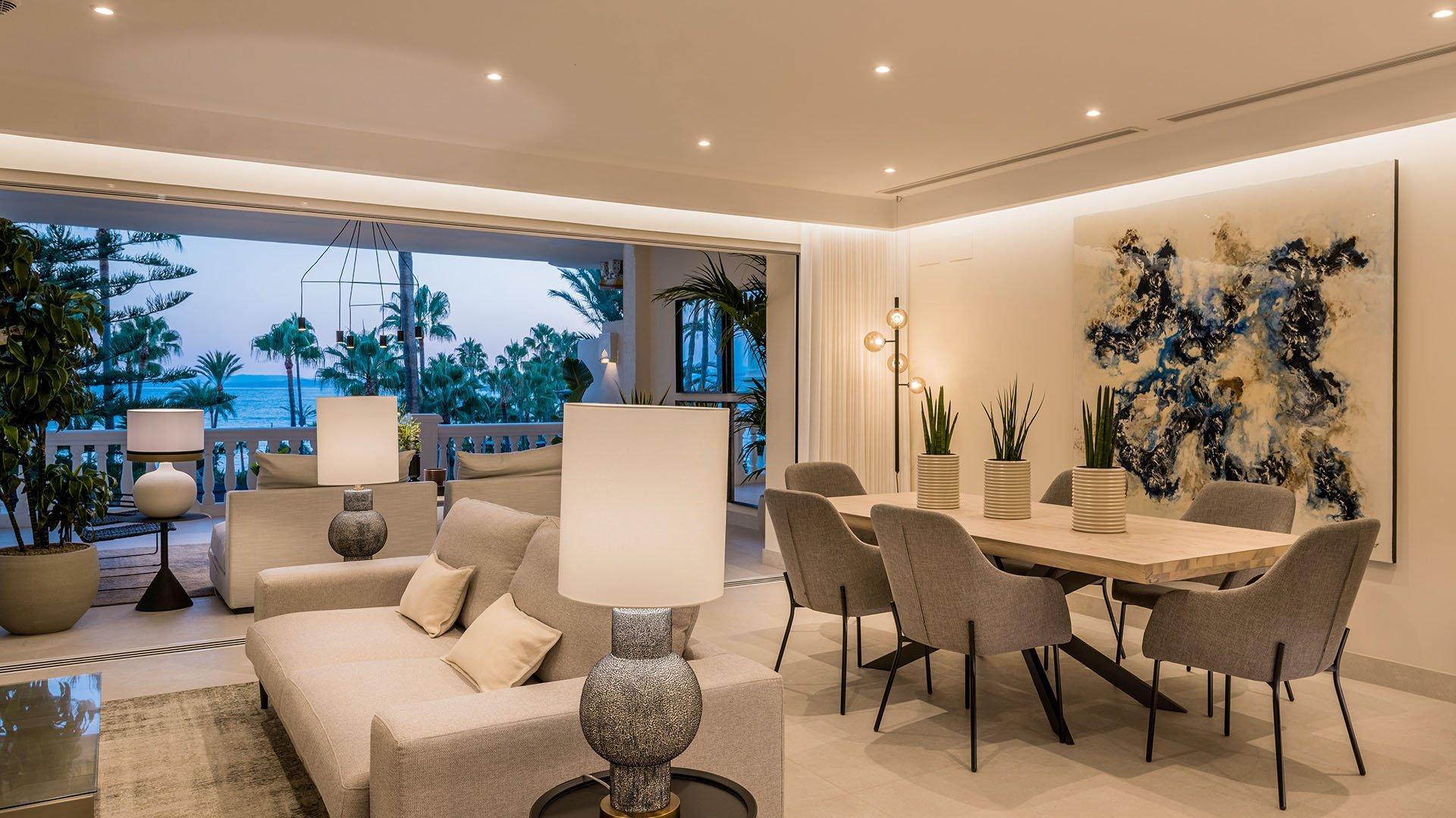 Las Dunas Park: Indrukwekkend eerste lijn strand appartement in Estepona
