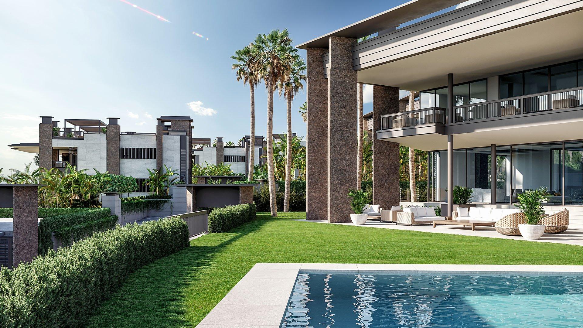 Los Palacetes de Banus: Unique luxury villas within walking distance from Puerto Banús