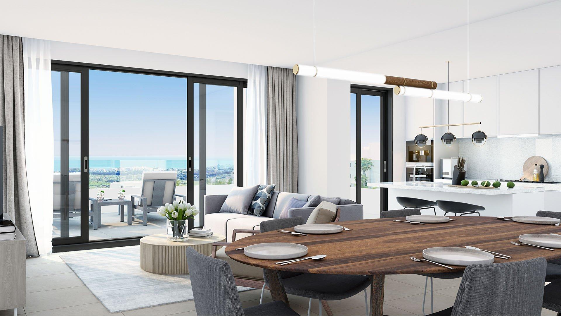 Mesas Homes: Apartments with phenomenal views near Estepona