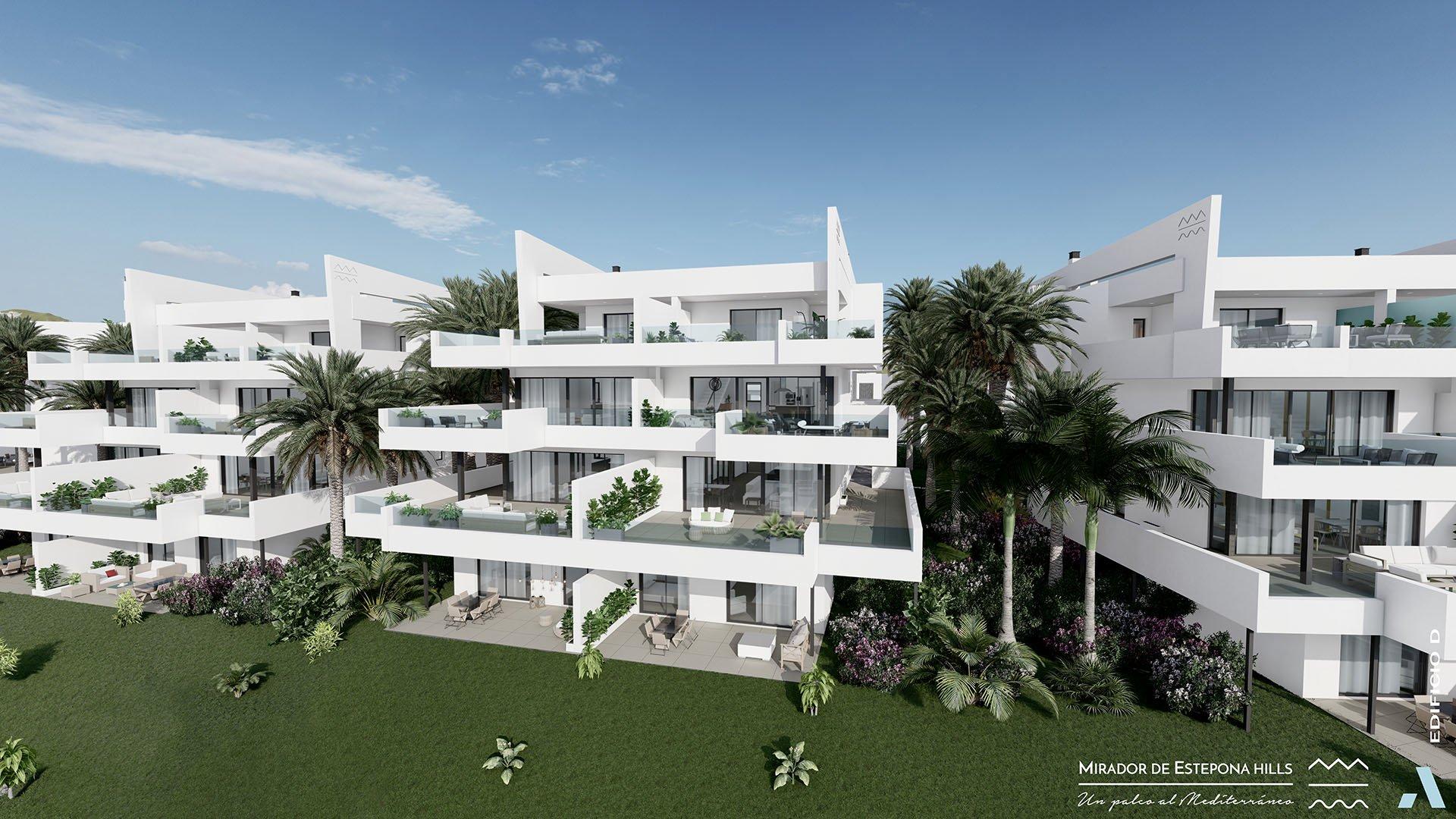 Mirador de Estepona Hills: Apartments on the outskirts of Estepona
