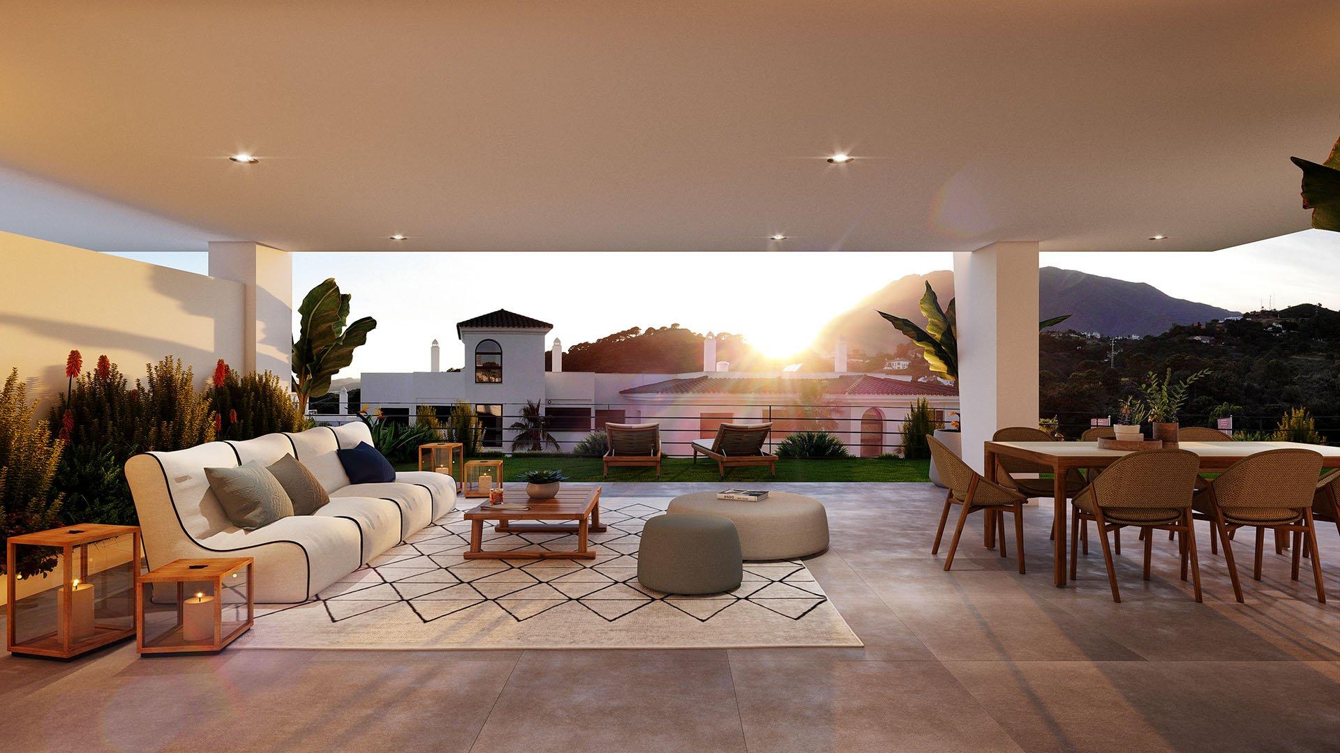 Mirador de Estepona Hills: Penthouses aan de rand van Estepona