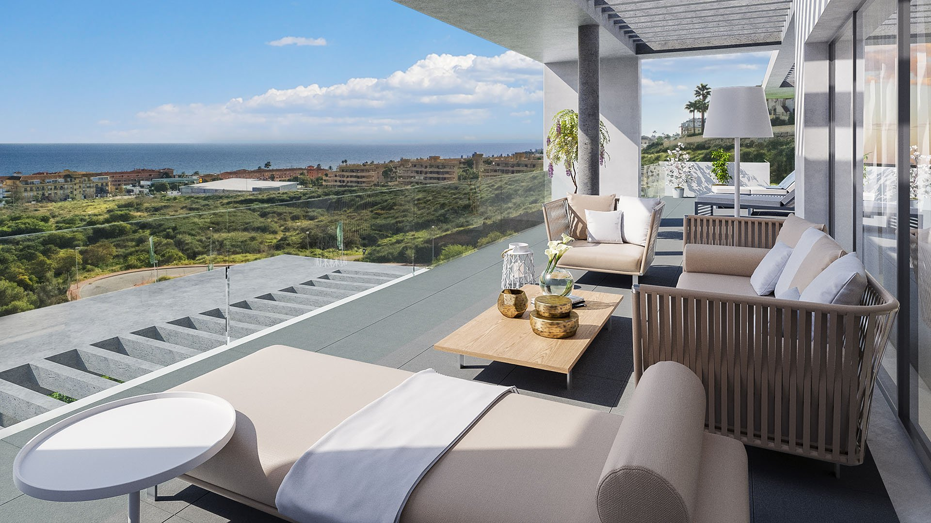 Navigolf Suites: apartments in Mijas at walking distance from the beach