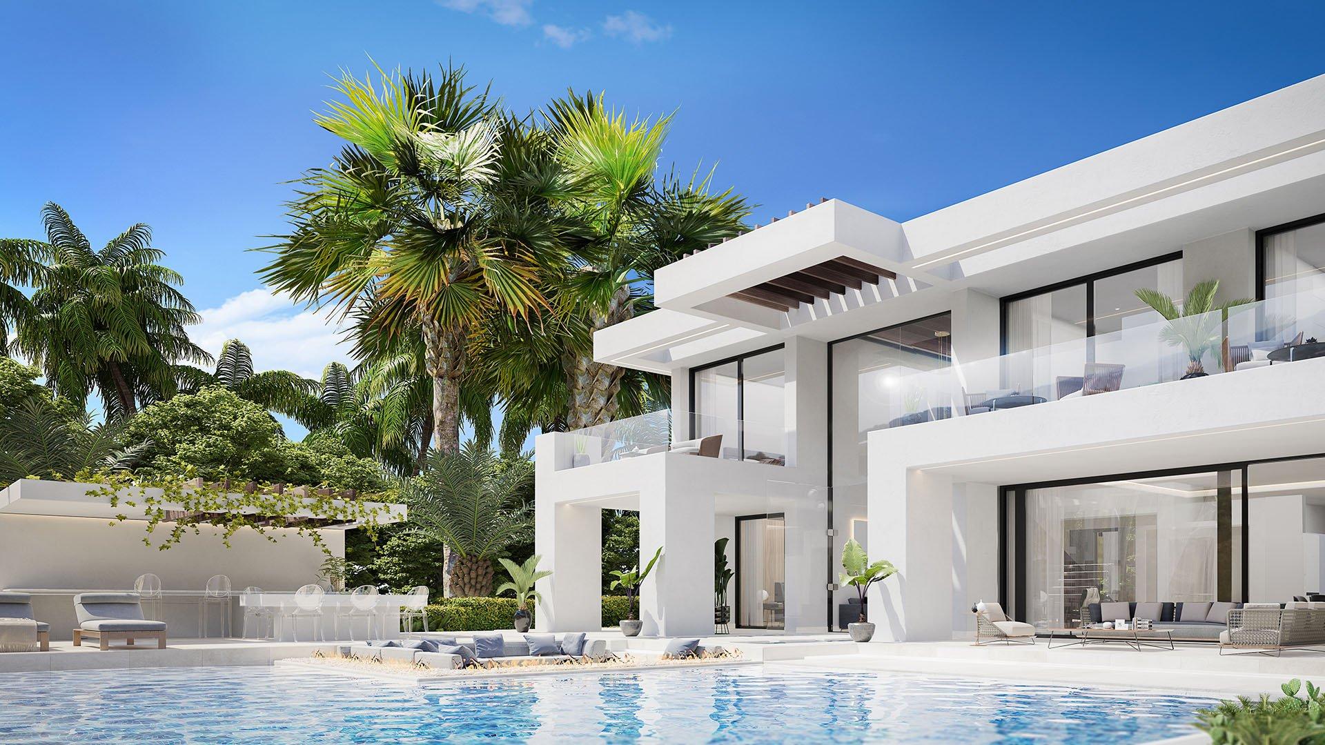 New Heights: Verbluffende villa's gelegen in de gouden driehoek