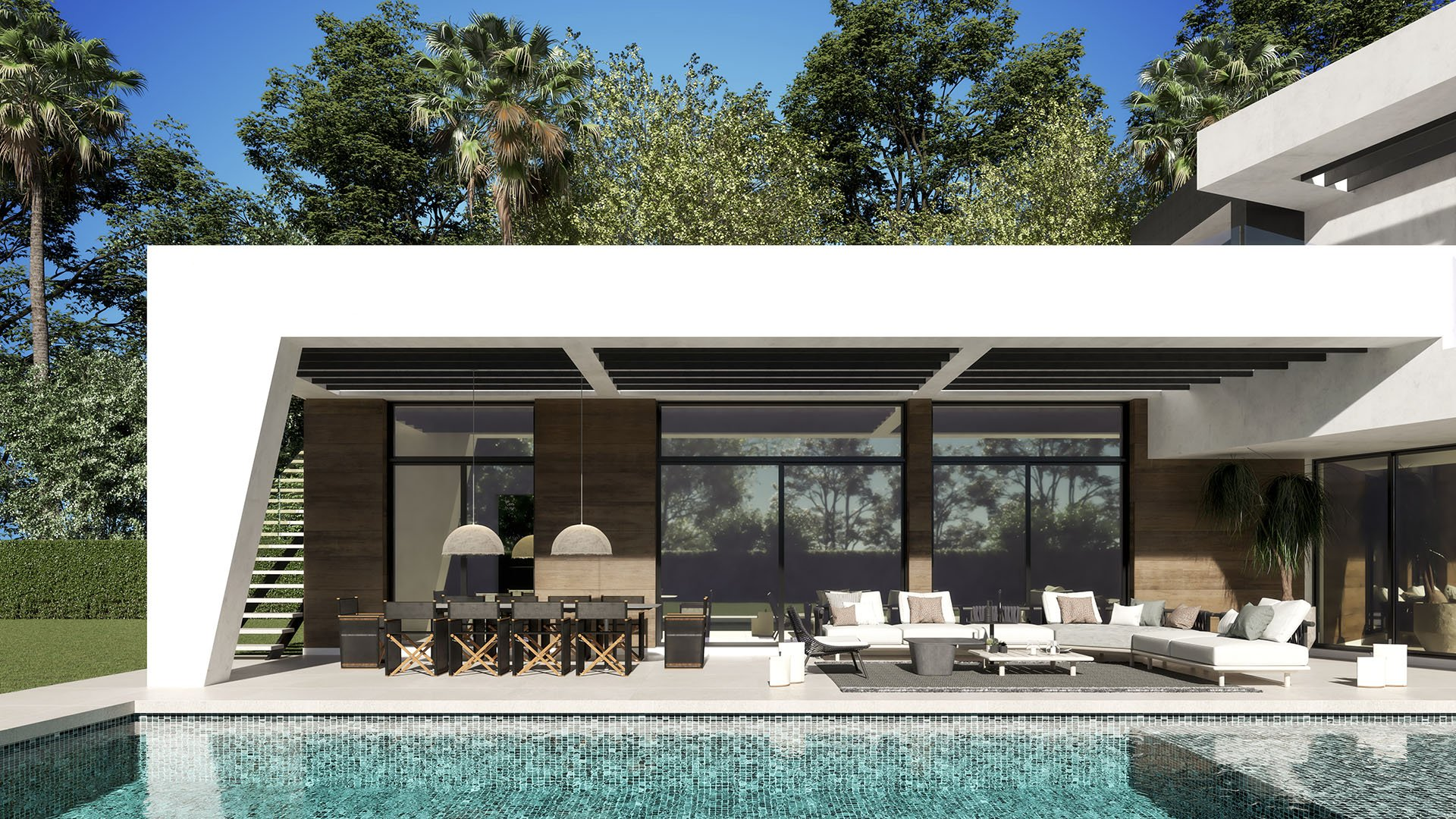 Villa Guadalmina Baja 197: Luxe villa op wandelafstand van het strand en voorzieningen