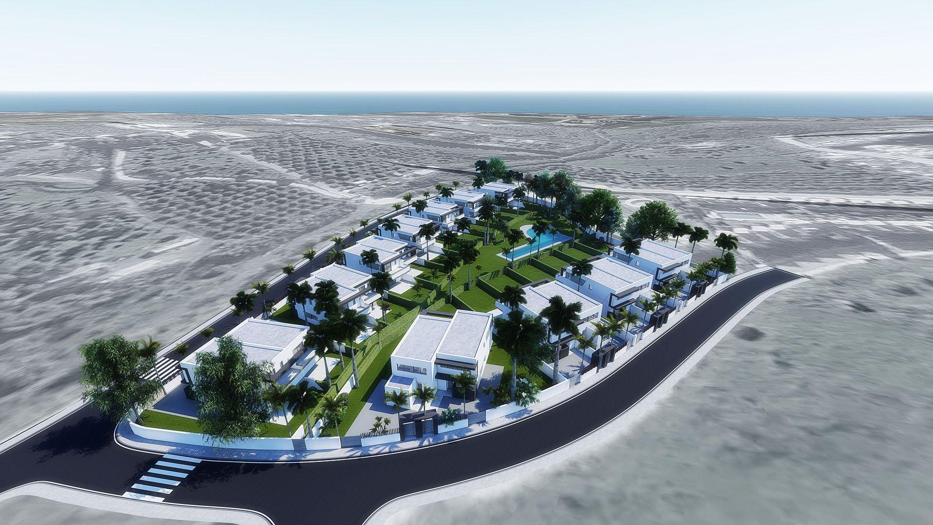 Oasis 22: Rustig gelegen half vrijstaande villa's aan de New Gold Mile
