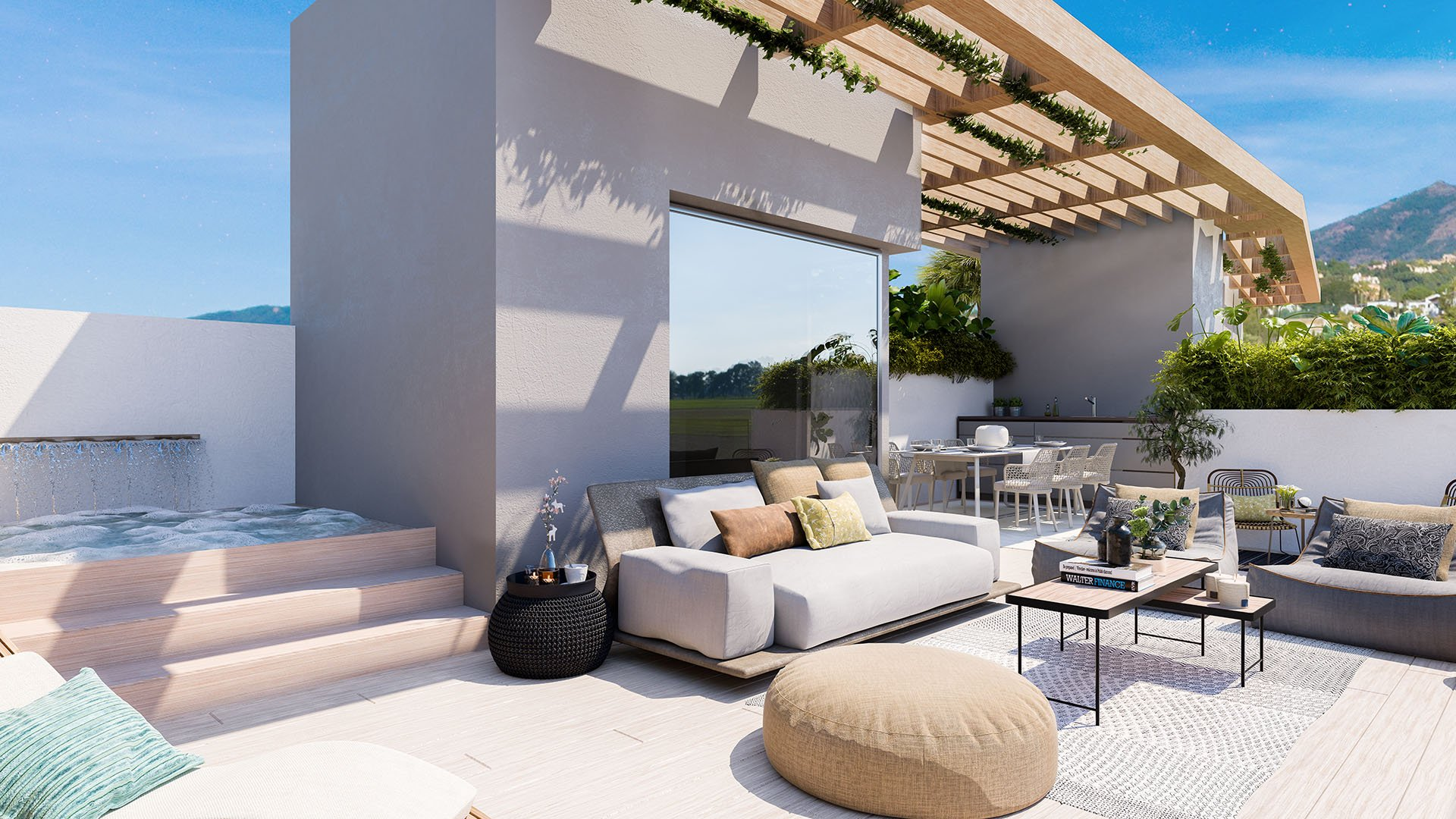 Ocean 360: Semi-detached villas in Benahavís
