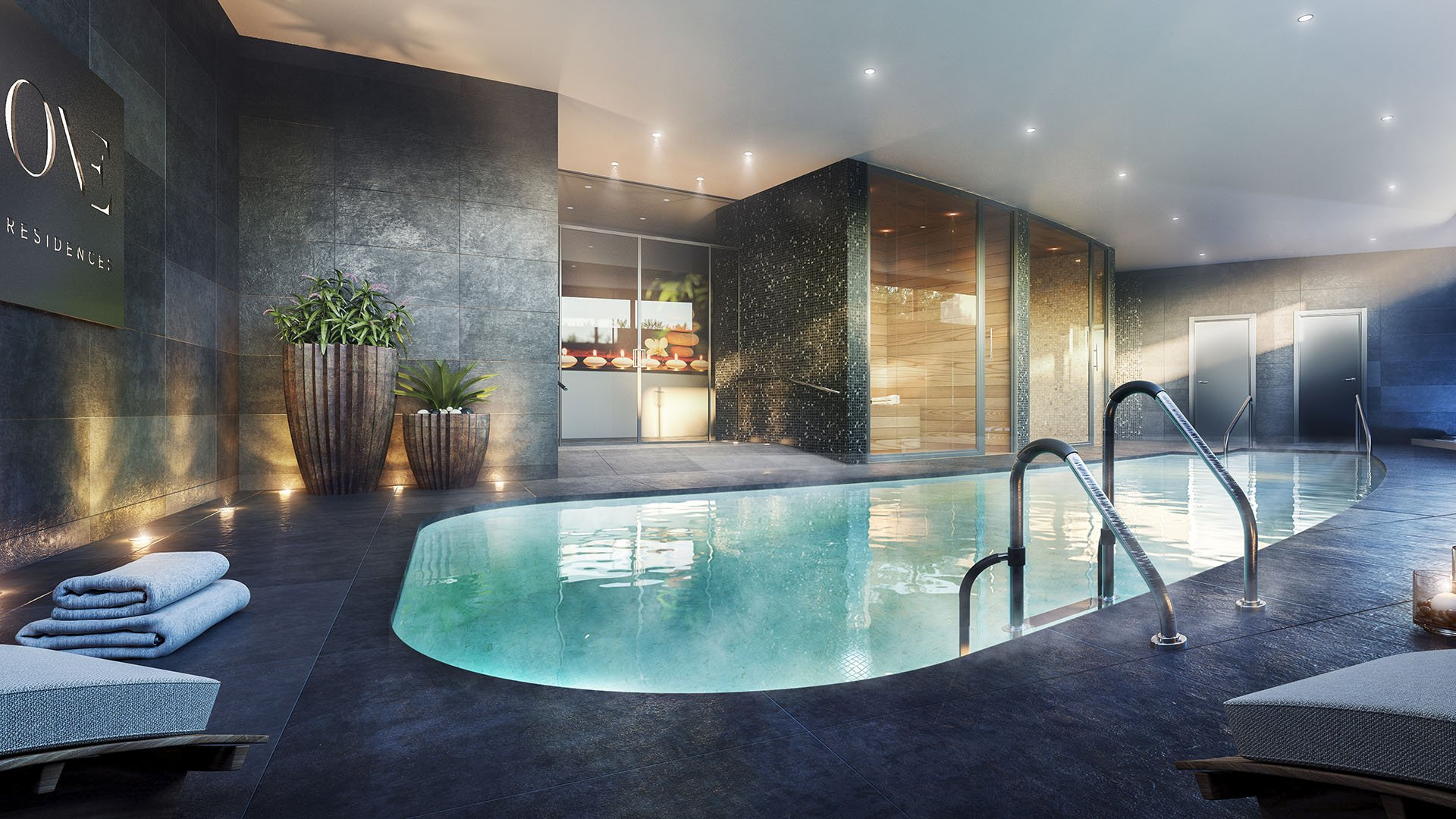 One Residences: Front line luxury golf apartments in Calanova Golf