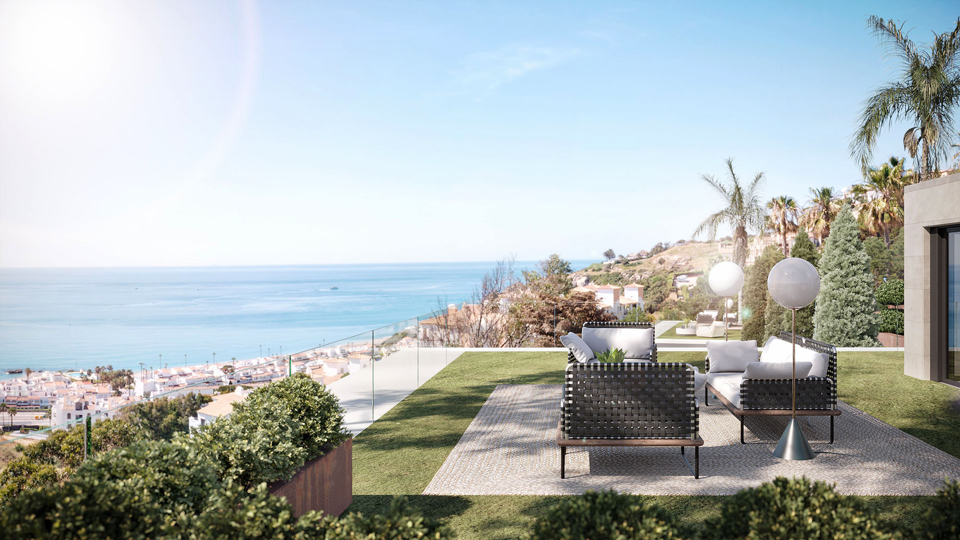 Ocean Eye: Magnificent villa in Manilva with views of the Mediterranean Sea