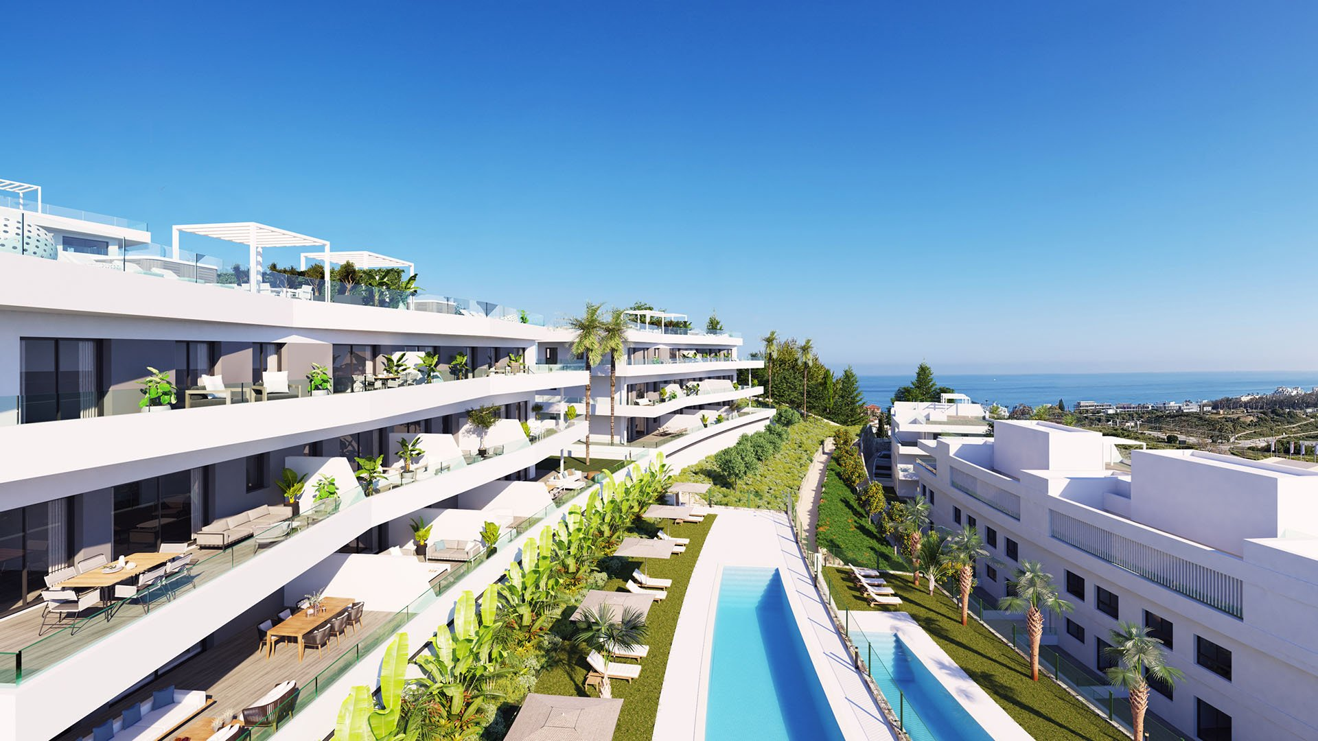 One80 Residences: penthouses with stunning views on an excellent location in Estepona