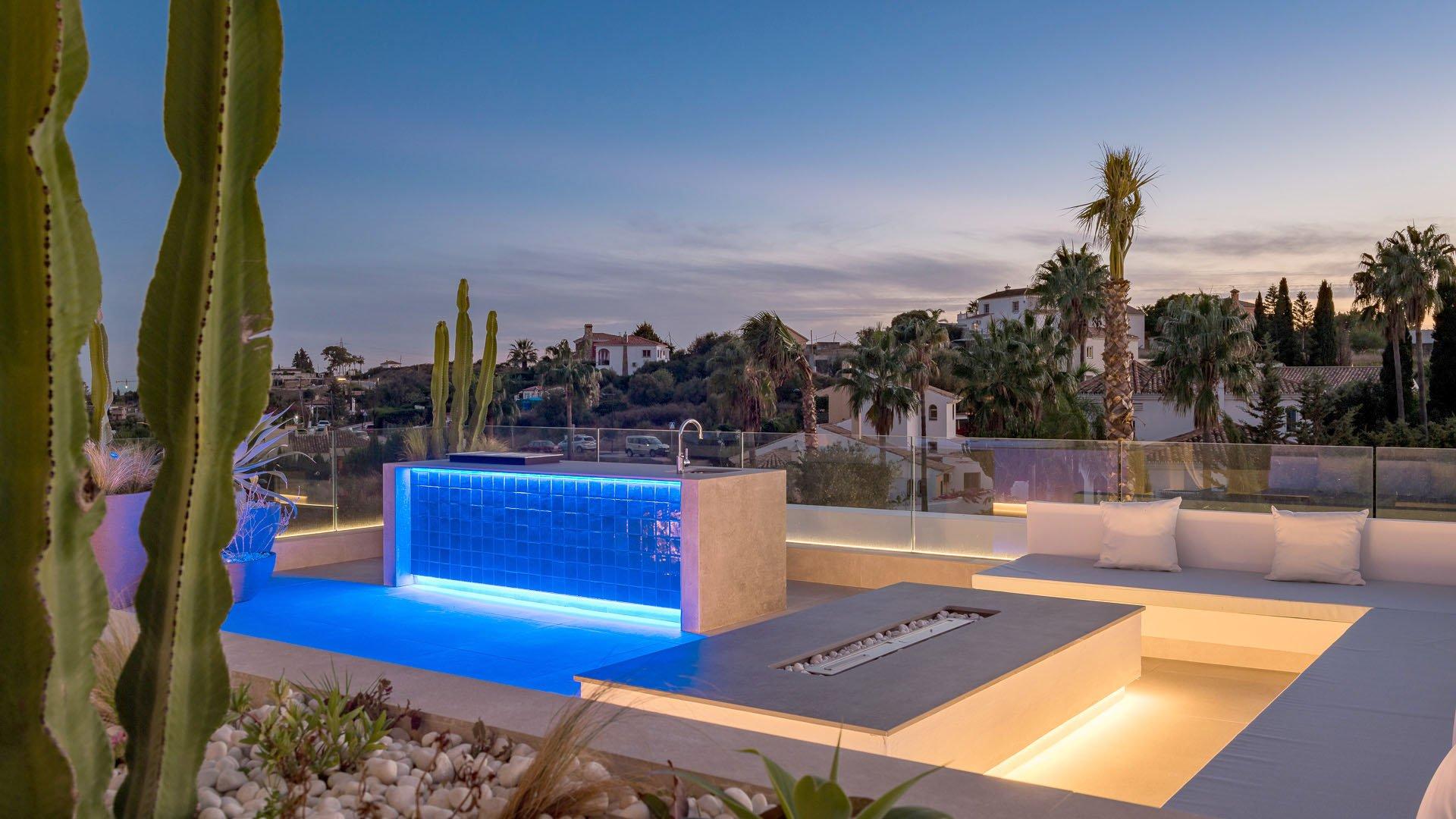 Romano Golf Villas: Beautifully located villa in Estepona