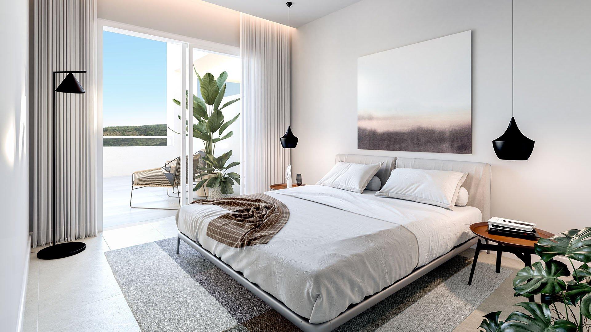 Royal Casares Homes: Appartementen in Casares verweven in golf met zicht op zee