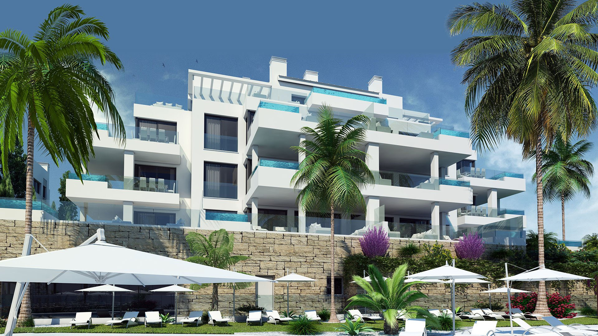 Santa Barbara Heights: High-end design en luxe resort in La Cala de Mijas
