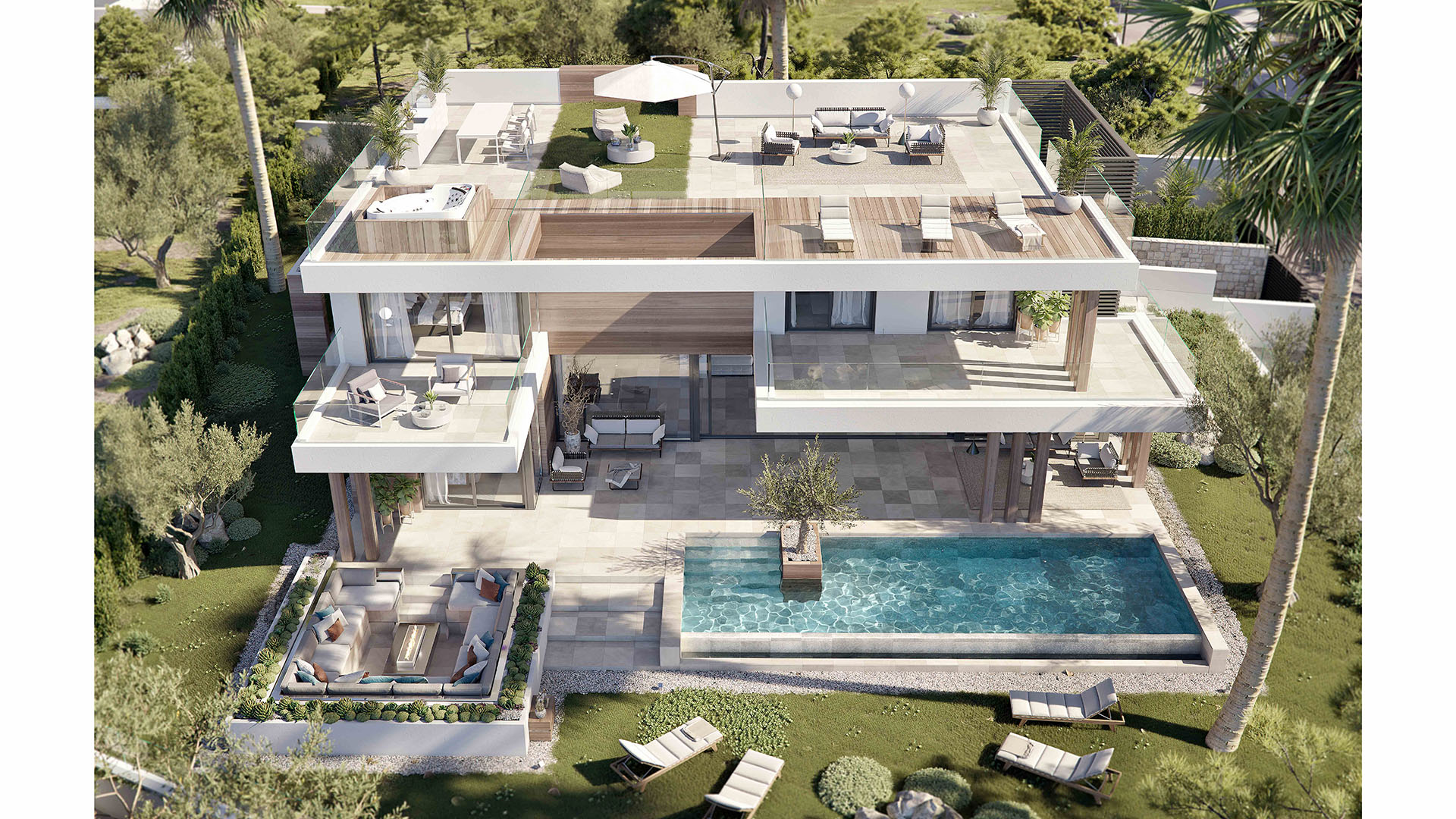 Silk: Modern new build villas in Estepona