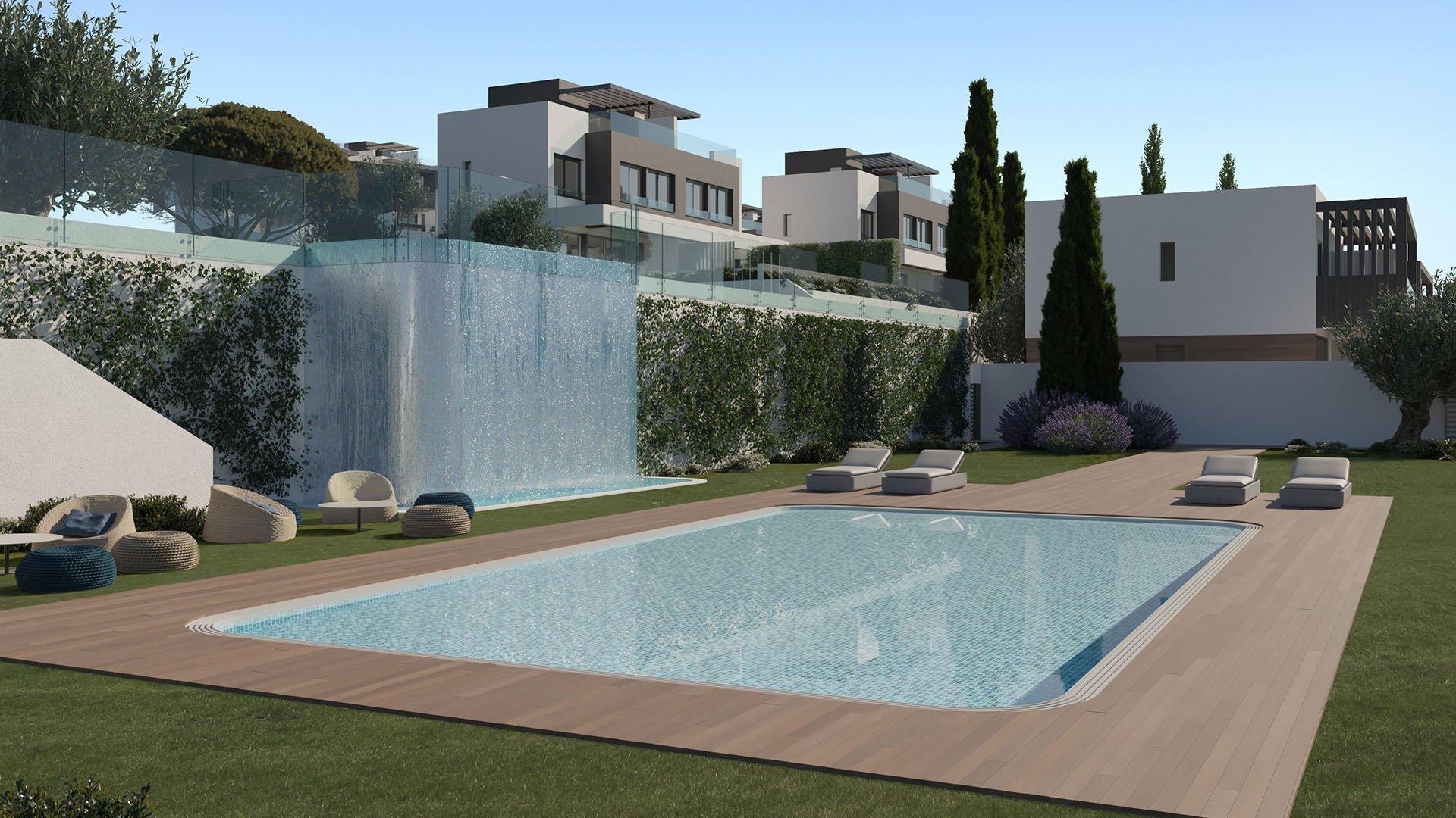 Serene Atalaya: Semi-detached villas surrounded by golf resorts