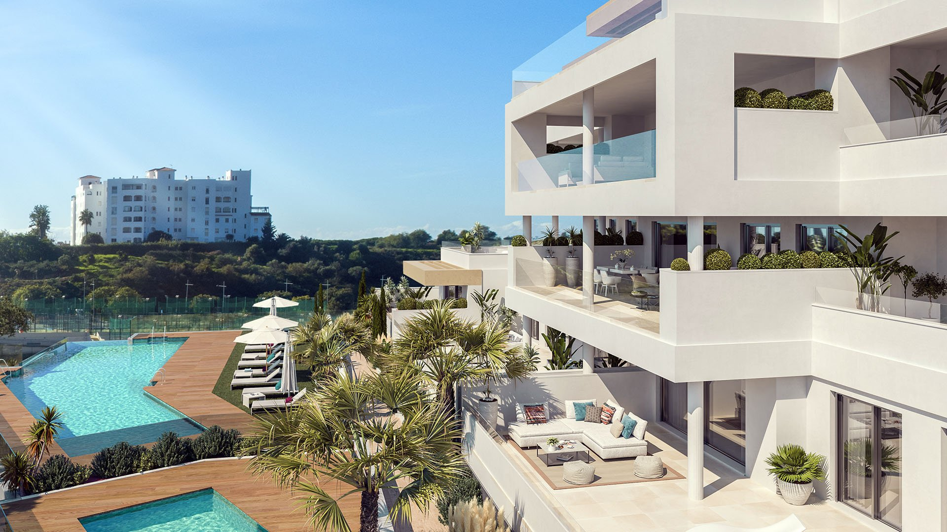 South Bay: Stunning sea views within walking distance from Estepona city center