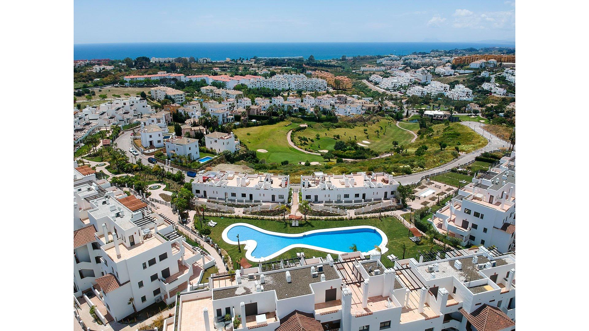 Sunset Golf Estepona: Appartementen in een mediterrane woonwijk dicht bij Marbella