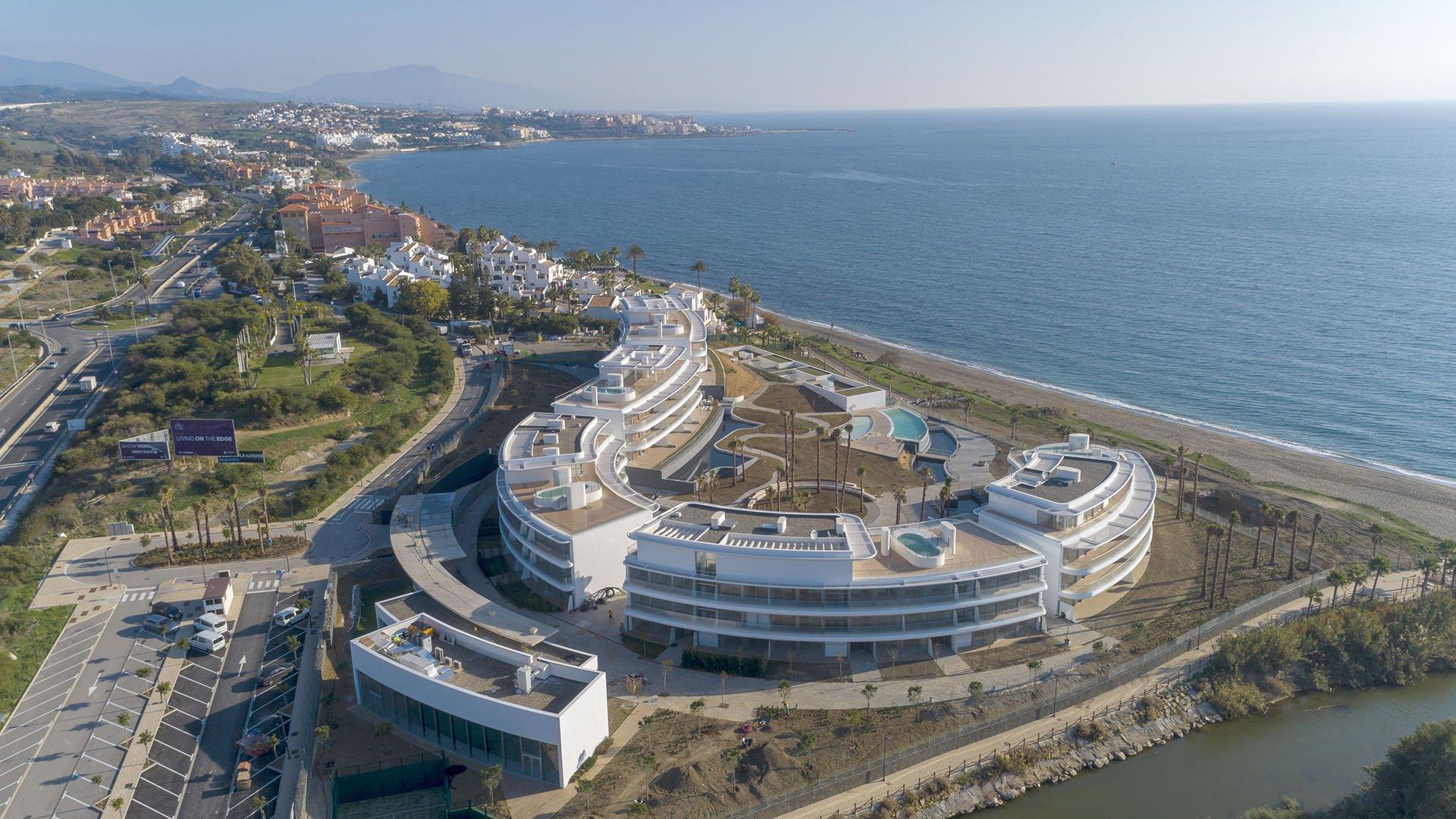 The Edge: Penthouses in een sensationele ontwikkeling aan het strand