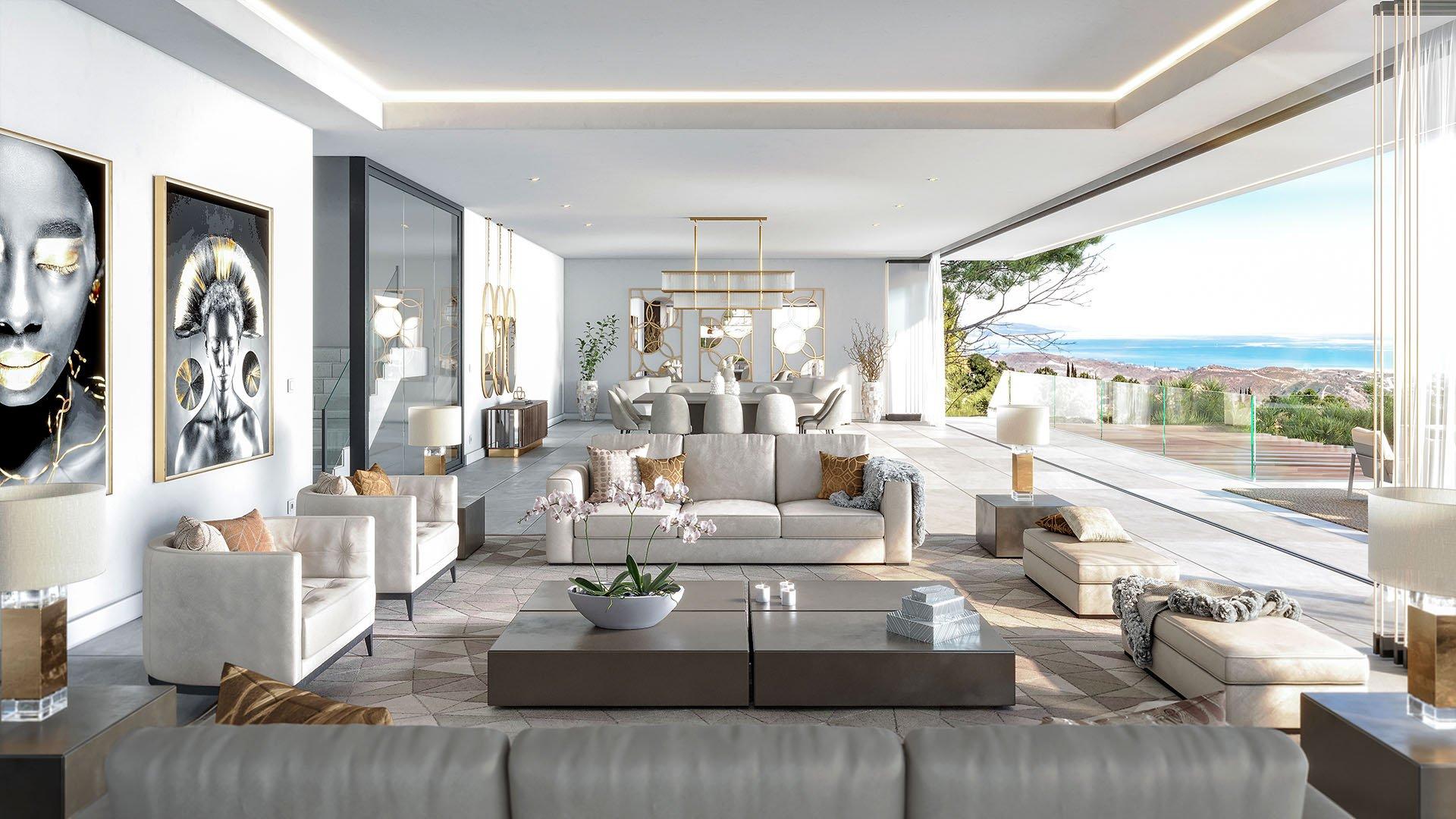 The Secret Marbella: Luxury villas in Marbella bordering nature reserve
