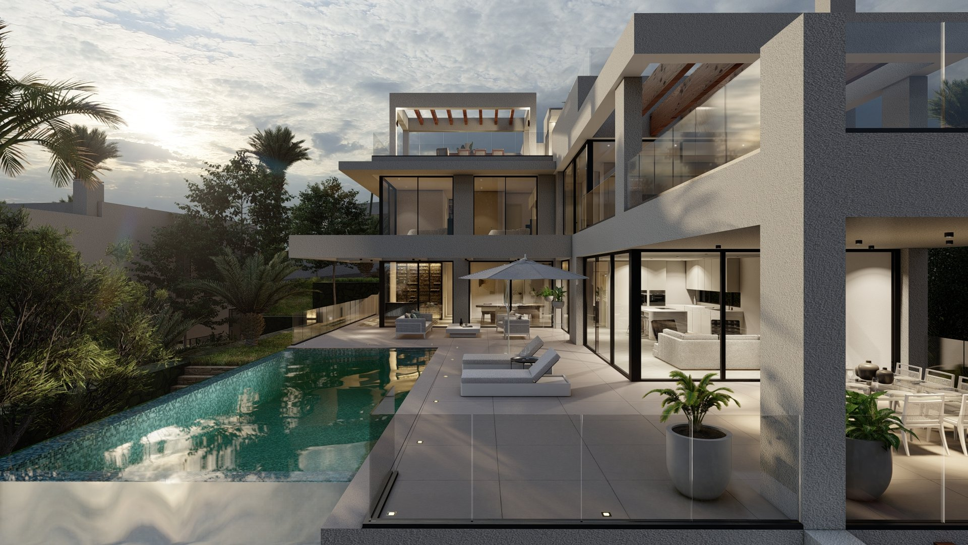 The View: Elegant villa with spectacular sea view on the New Gold Mile