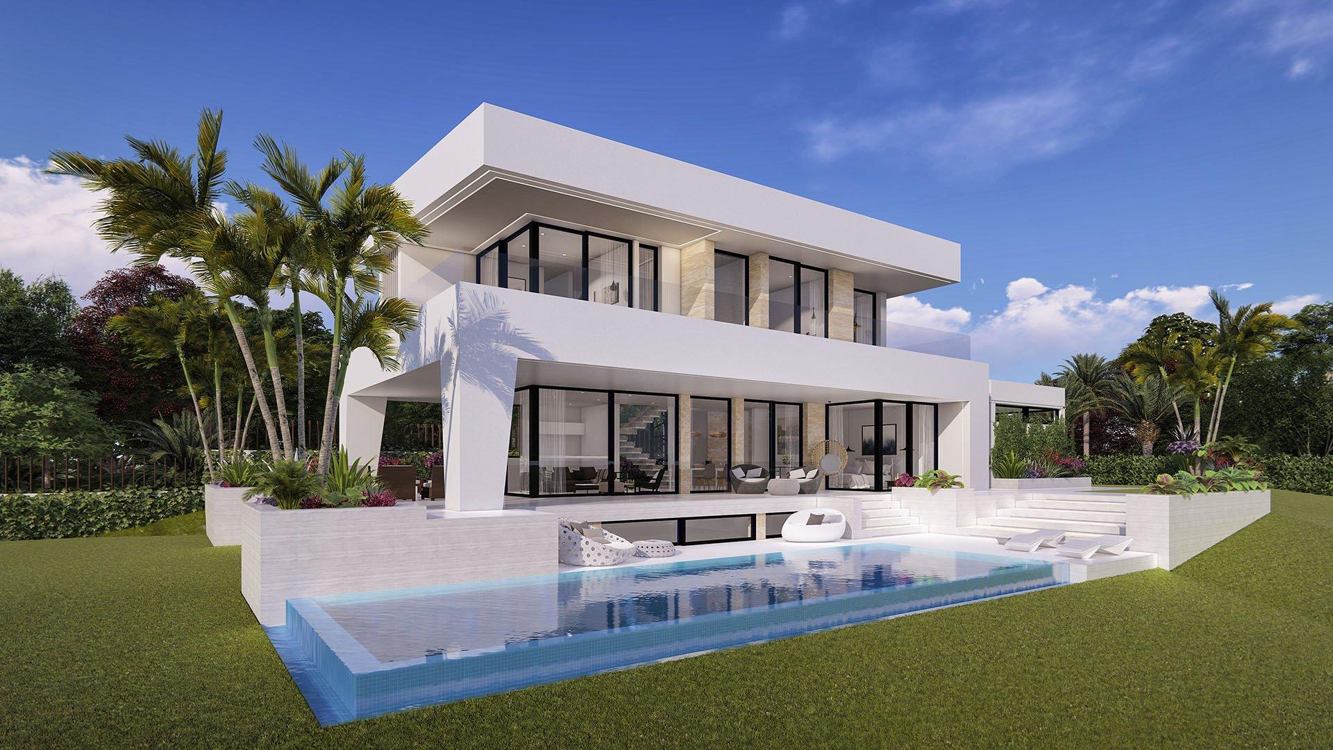 Villa Laura: Modern villa with sea views in La Cala de Mijas